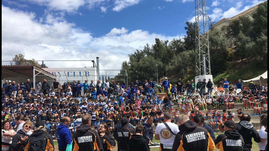 El Trocadero Marbella Rugby Club acogió el I Torneo Internacional