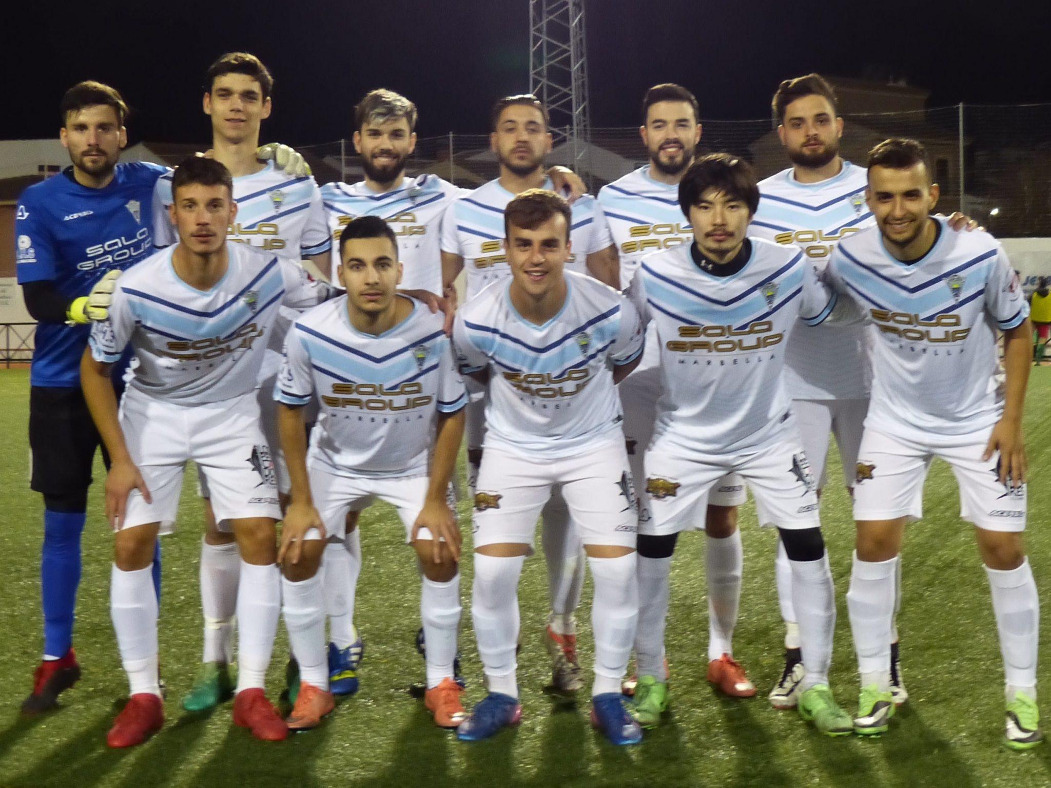 Empate del Atlético Marbella frente al Trabuco para despedir el año (1-1)