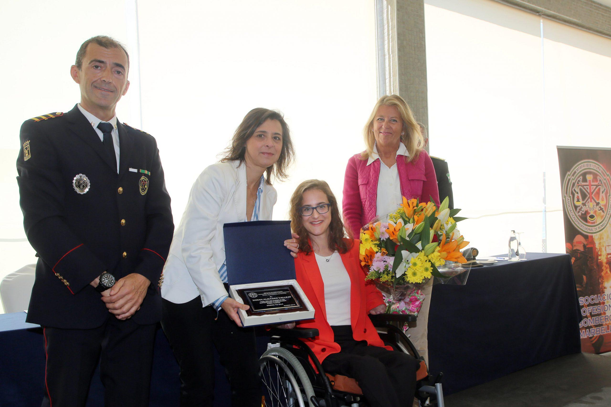 En el día del Patrón de los Bomberos, la alcaldesa les agradece su profesionalidad