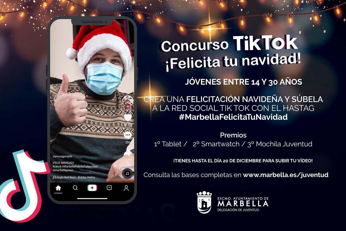 En marcha los concursos 'Reels Decora tu Navidad' y 'TikTok Felicita tu Navidad'