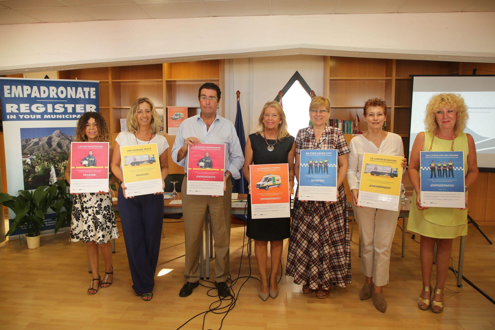 En marcha una campaña para concienciar sobre la importancia del empadronamiento para el municipio