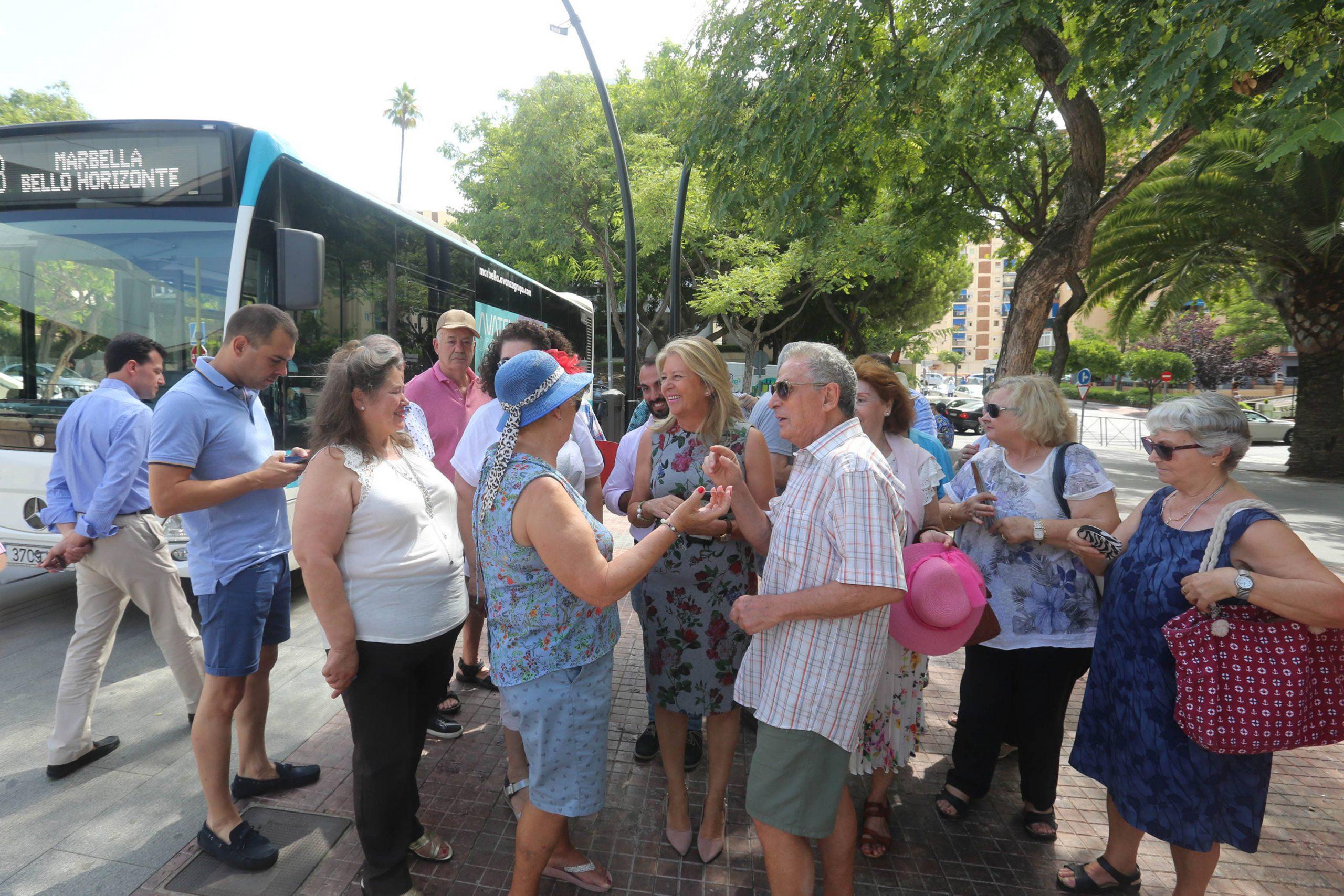 Entra en funcionamiento la nueva línea de autobús urbano 6B que unirá Bello Horizonte con La Cañada