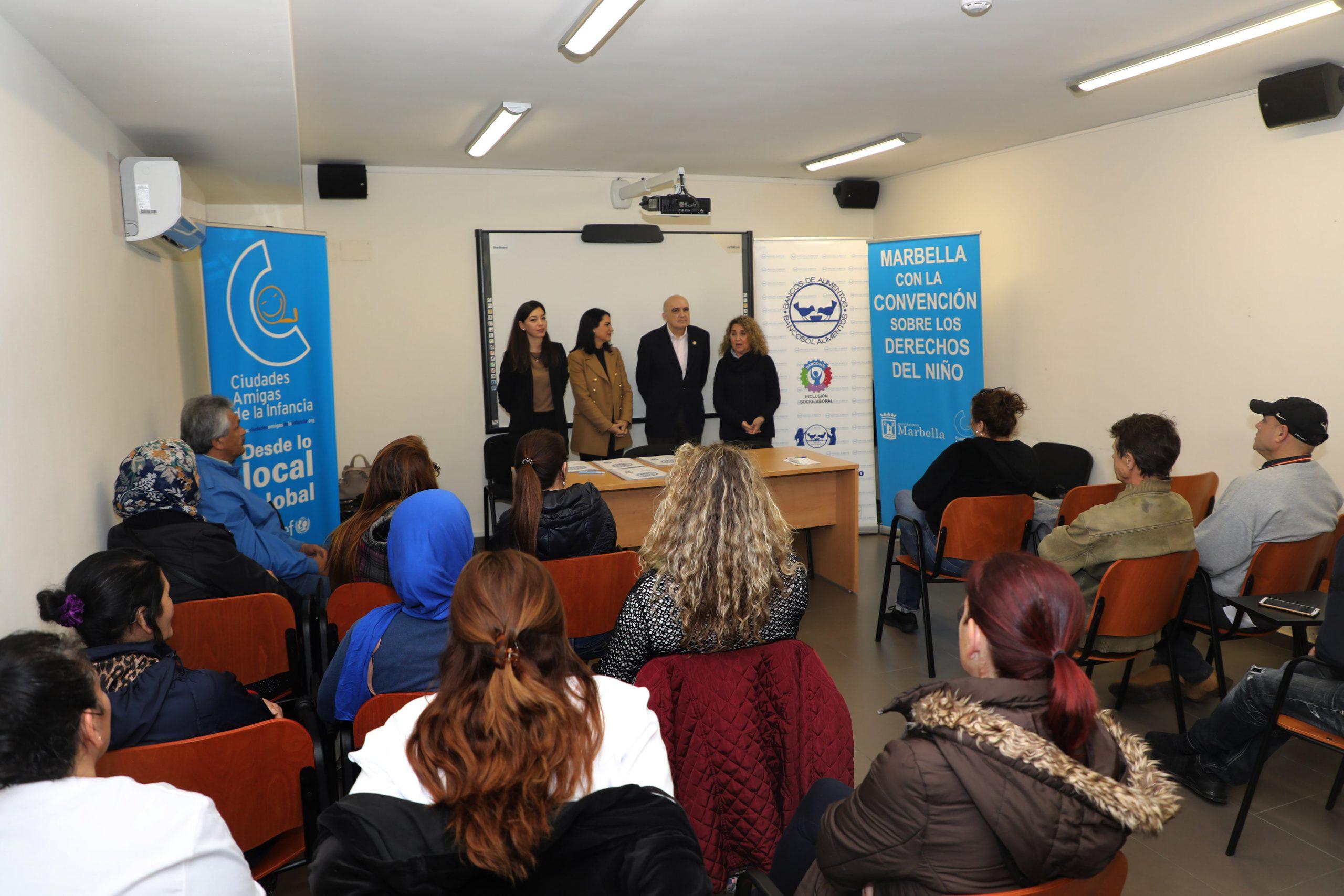 Entregan los diplomas de los seis cursos del programa de inclusión sociolaboral