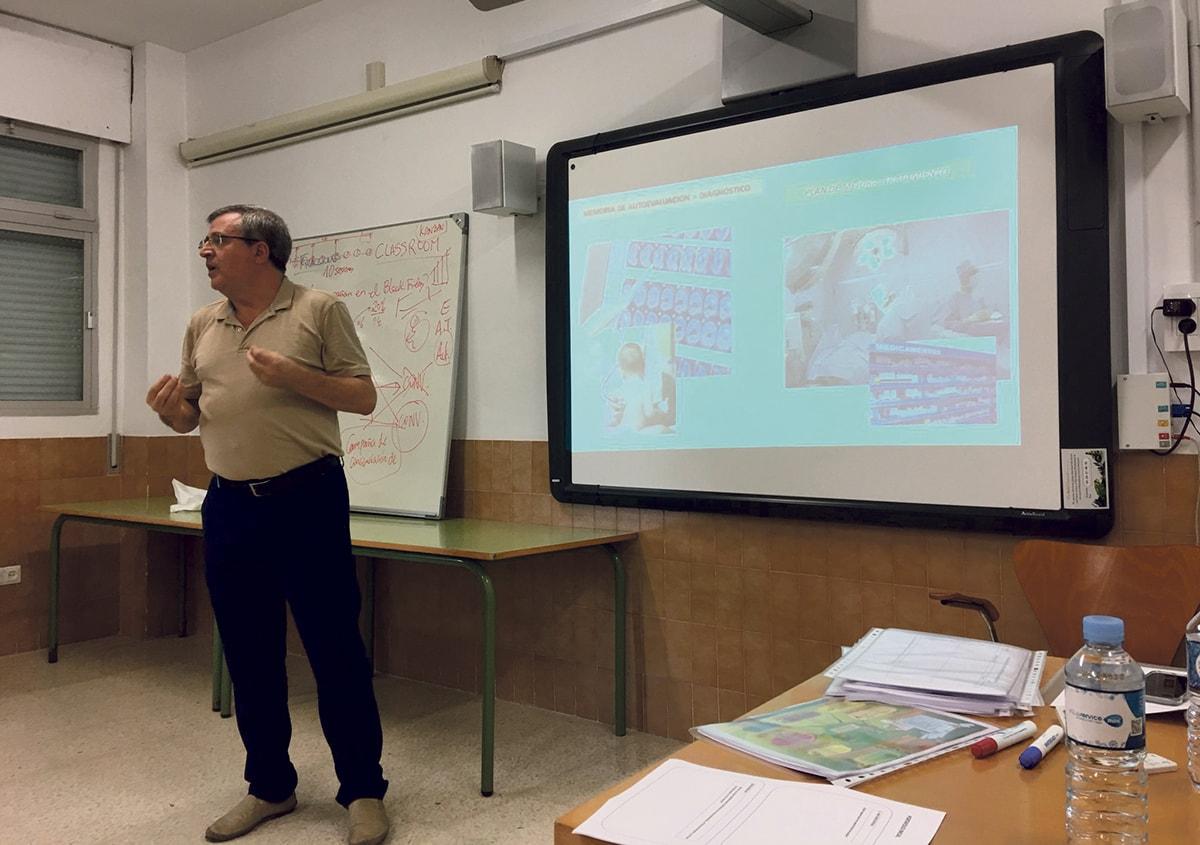 Entrevista a Manuel Mellado, director del Centro de Profesorado (CEP) Marbella-Coín
