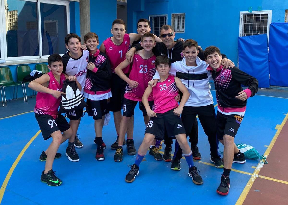 Épica victoria del infantil masculino del CB Costa Marbella ante el Fundación Victoria