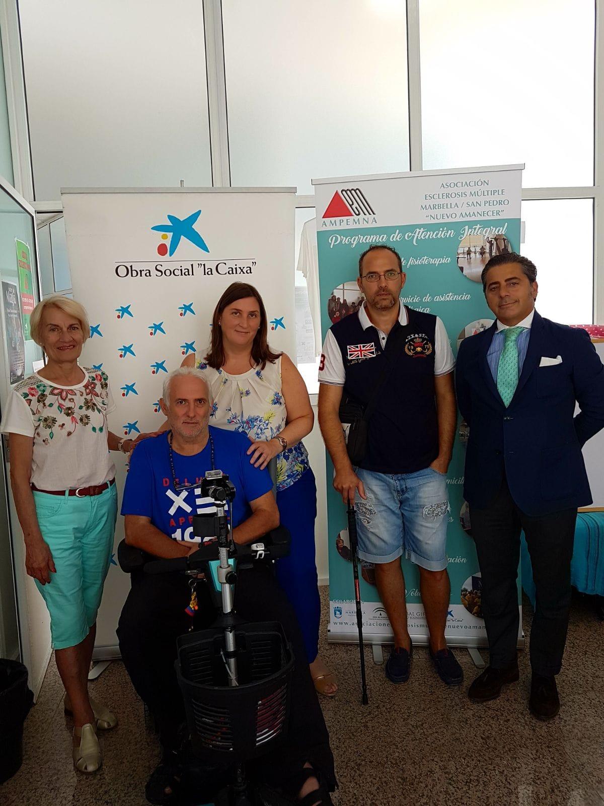 Premios CIT Marbella a la asociación Nuevo Amanecer