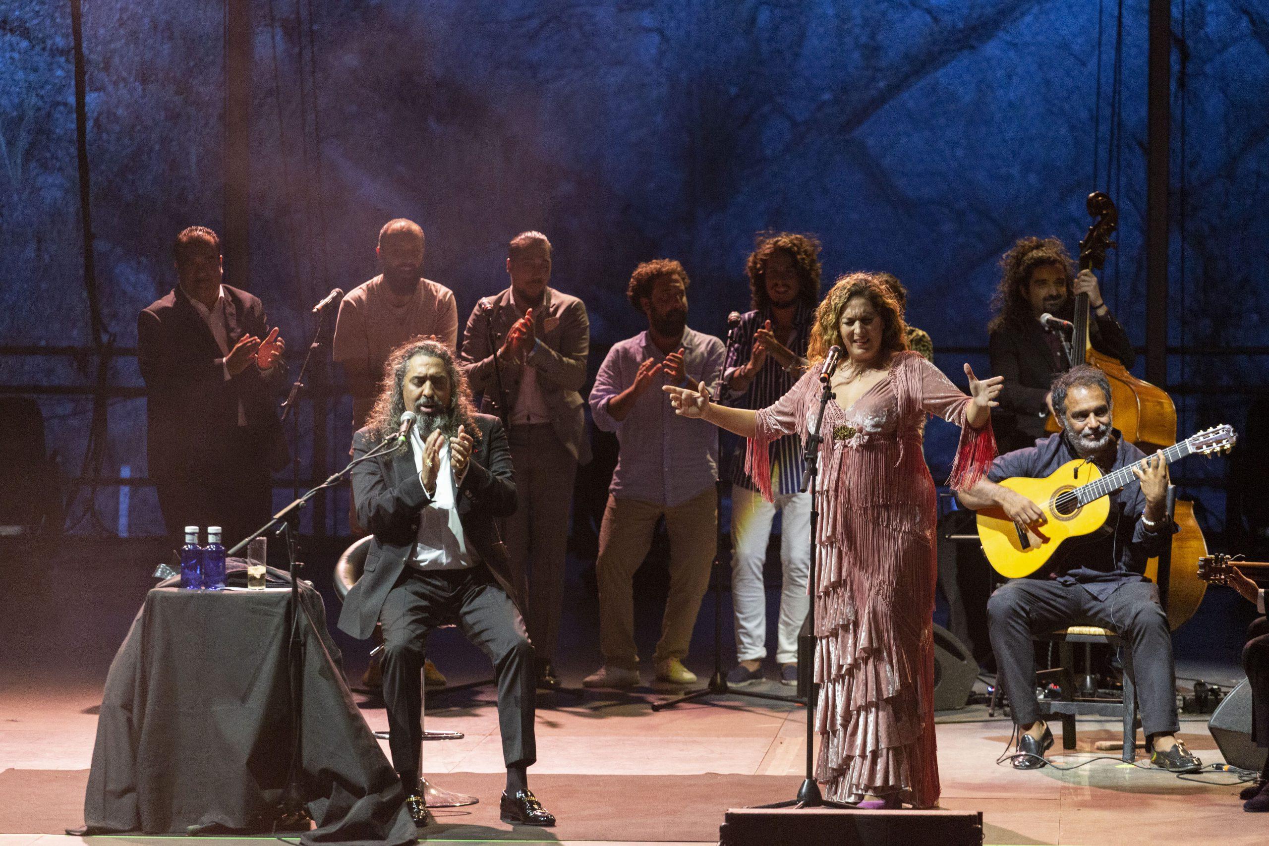 Estrella Morente y Diego El Cigala juntos en Starlite Catalana Occidente