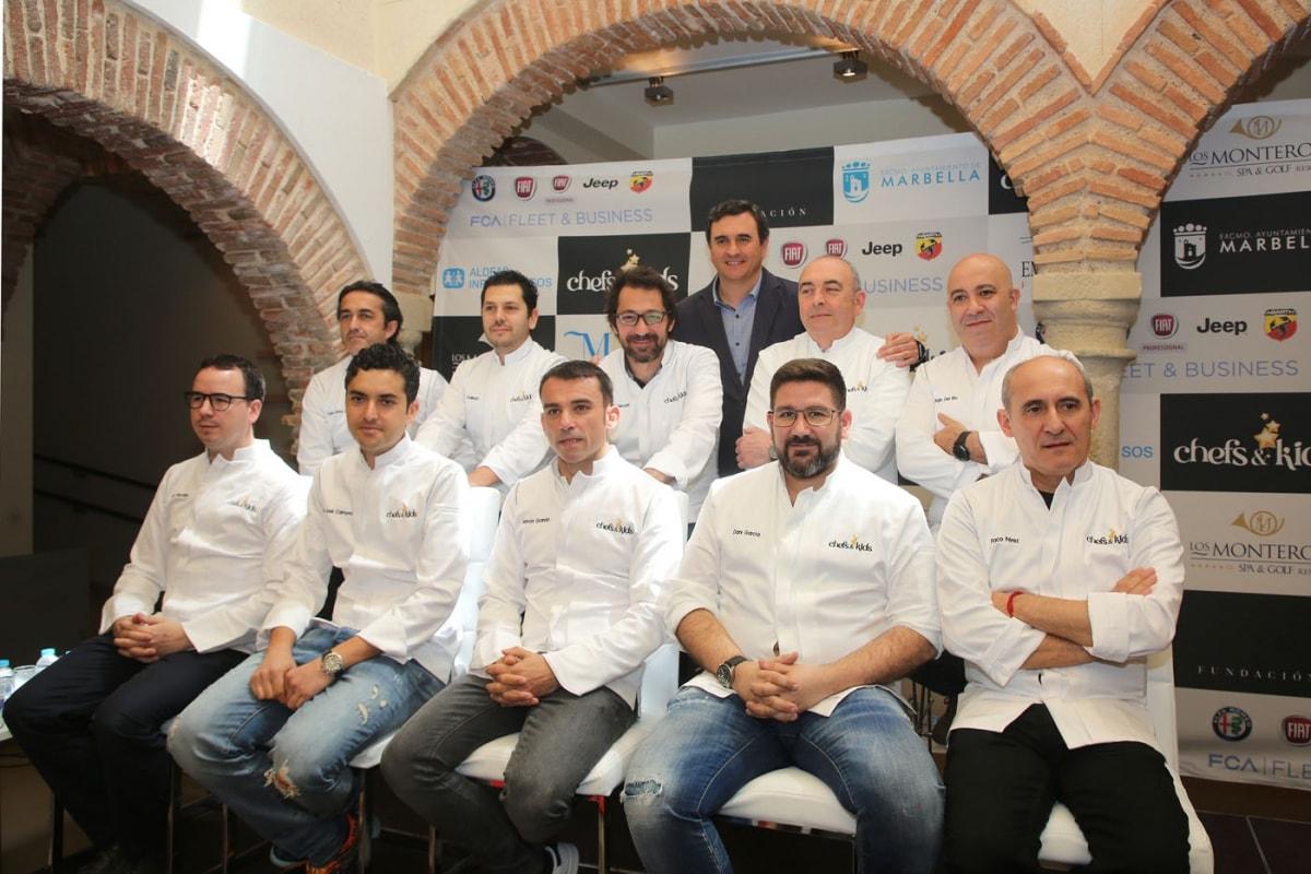 Más de 40 estrellas Michelín se darán cita en Marbella el 21 de mayo en el evento Chefs & Kids a beneficio de Aldeas Infantiles SOS