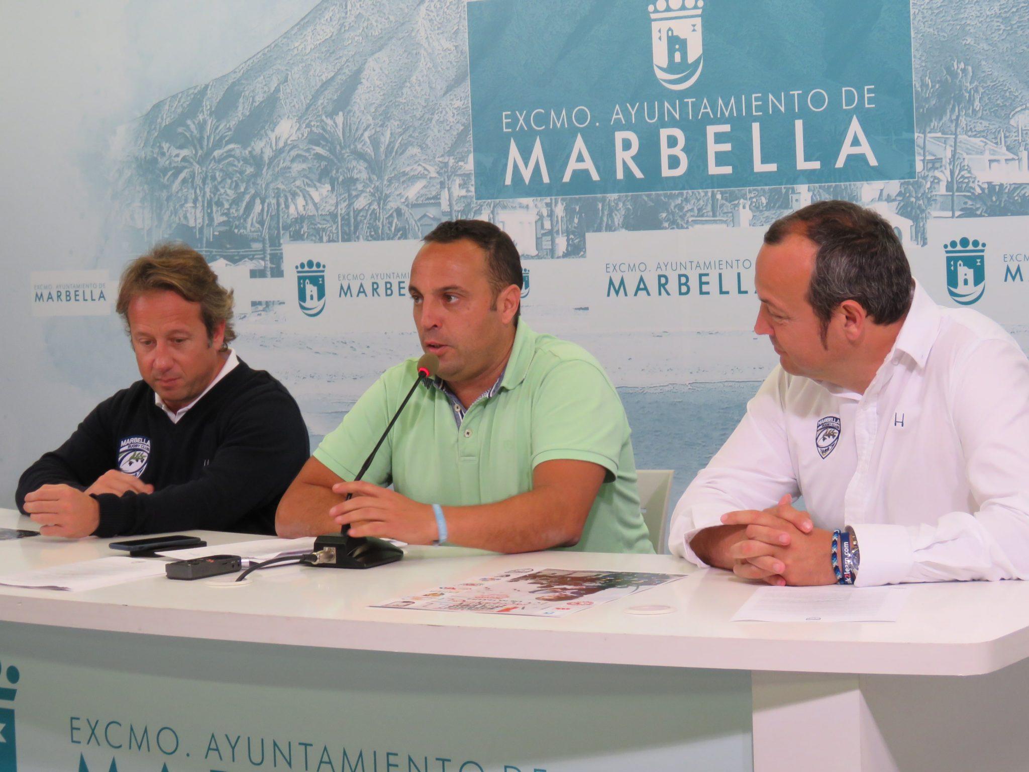 Este fin de semana se celebra el Festival Internacional de Escuelas de Rugby 'Marbella Sol Cup 2018' con la participación de 600 deportistas