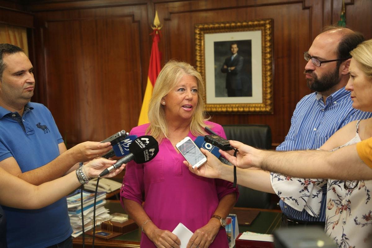 """La alcaldesa considera """"insólito"""" que el Gobierno del PSOE pretendiera arrebatar a Marbella los fondos recuperados en los procedimientos judiciales por corrupción"""