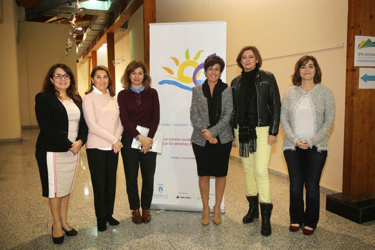 Marbella acoge el primer Foro Internacional de Turismo e Igualdad que analiza los derechos de las mujeres en el sector del turismo