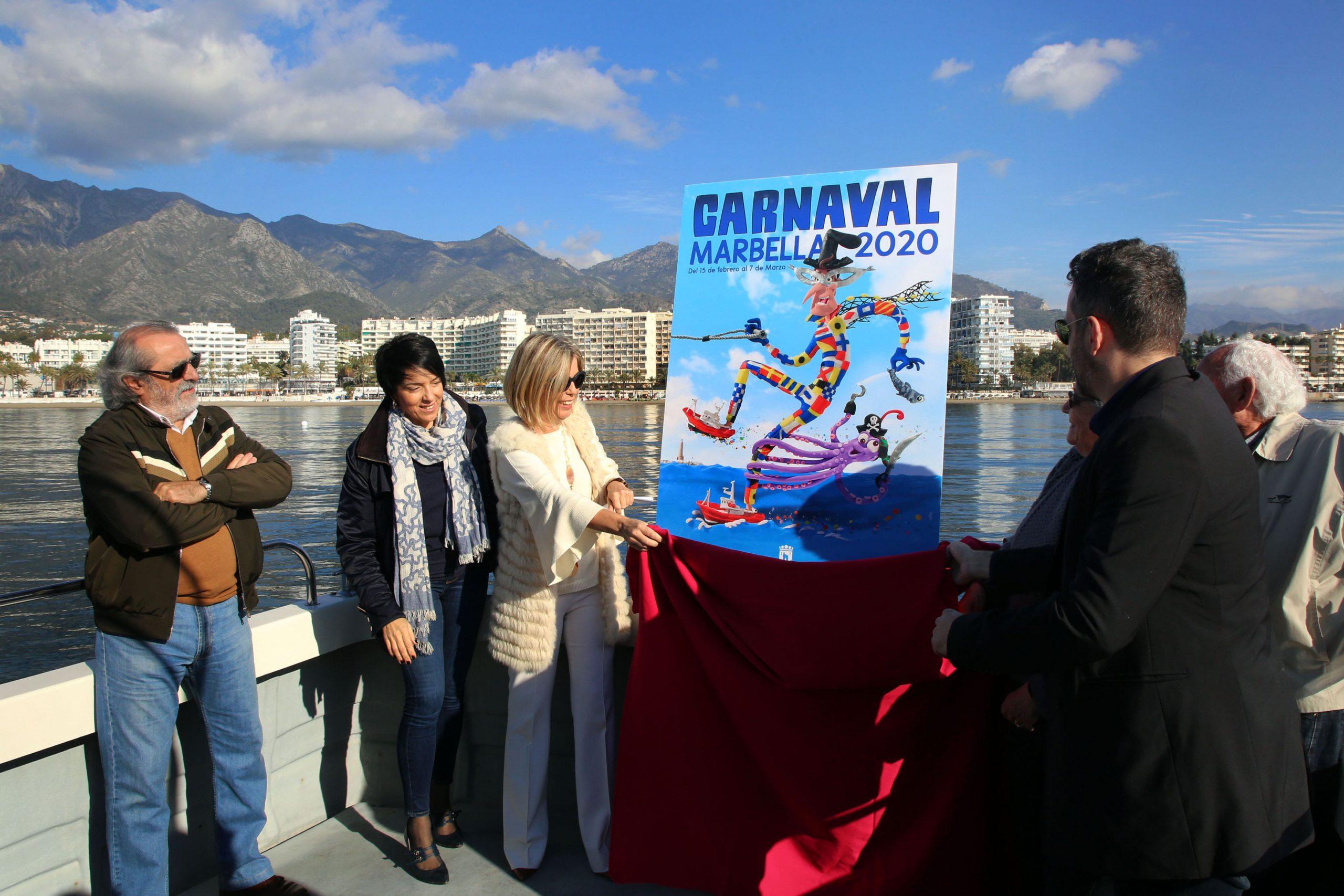 Fran Terrén será el pregonero del Carnaval de Marbella 2020