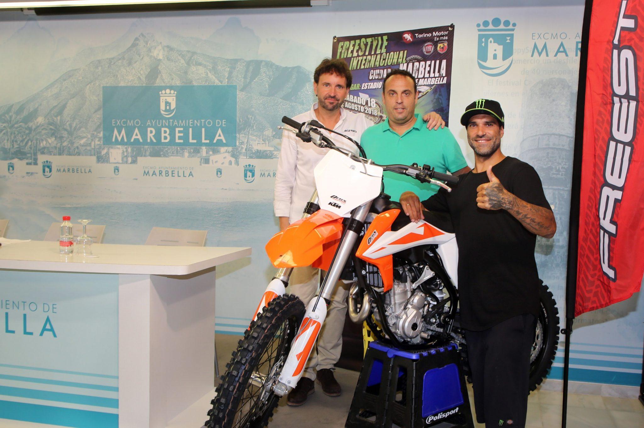 'Freestyle' vuelve a Marbella el sábado 18 de agosto con pilotos de primer nivel