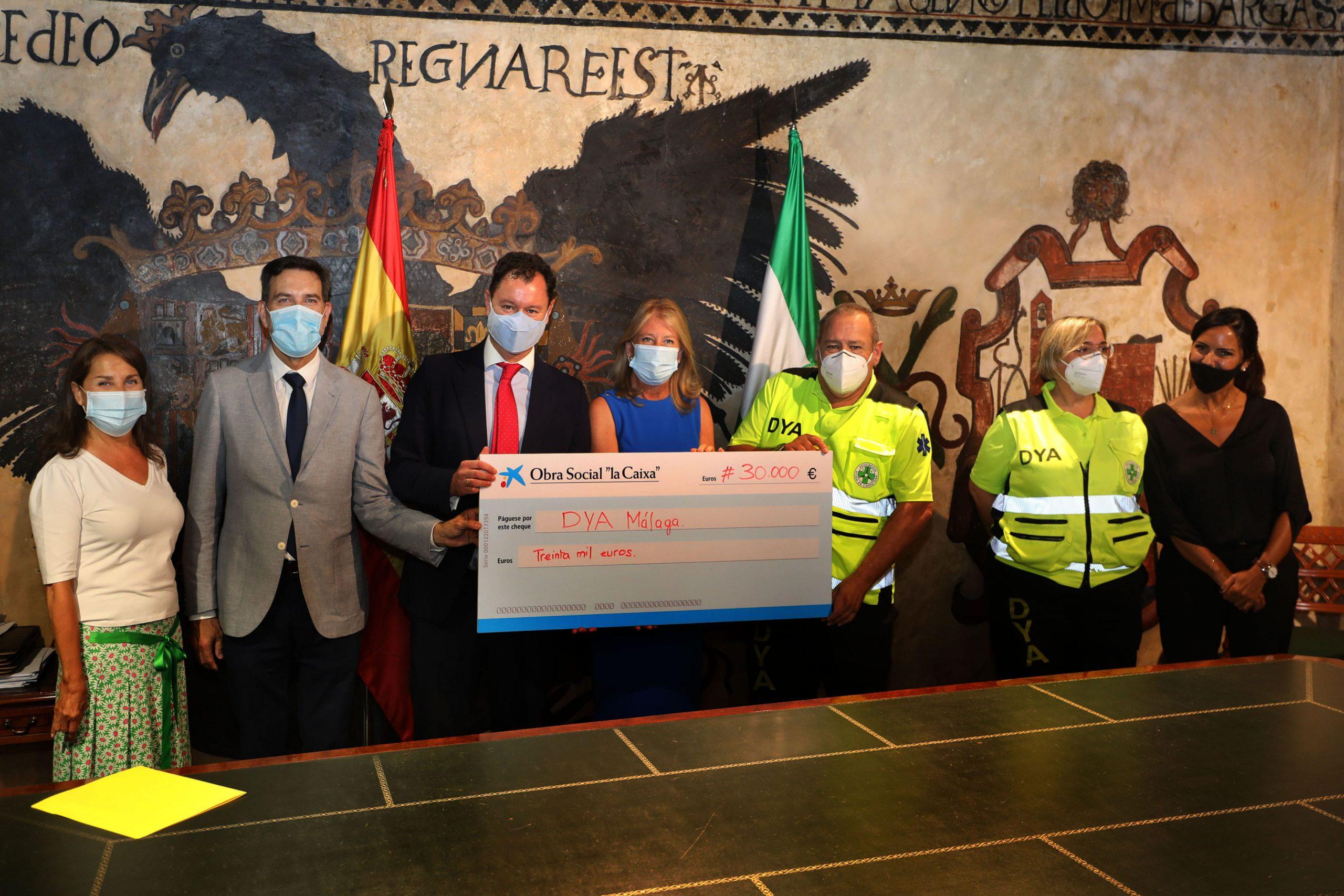 Fundación La Caixa respalda con 30.000 euros la iniciativa de la tarjeta-monedero
