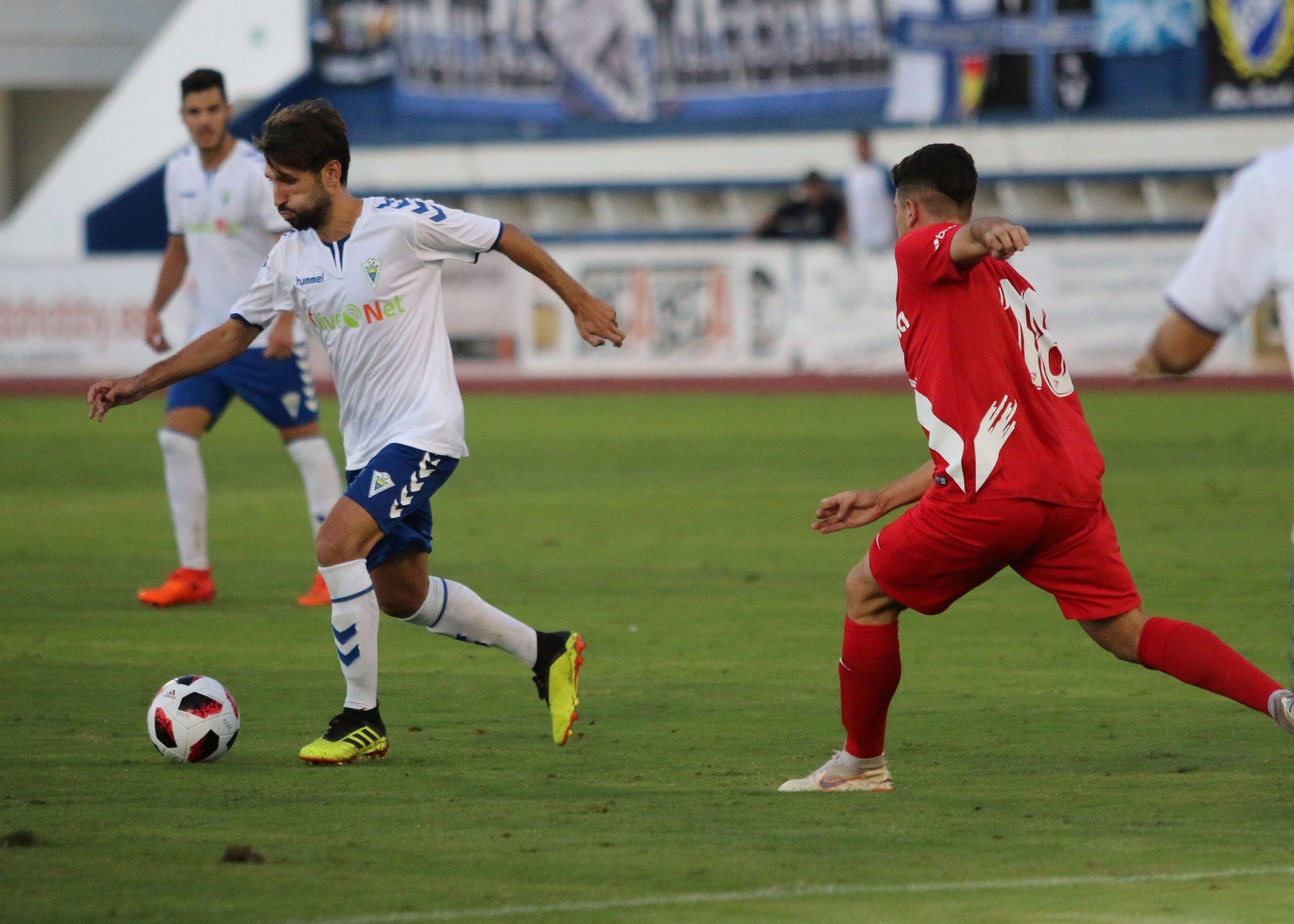 Goleada del Marbella FC frente al Sevilla Atlético (4-0)