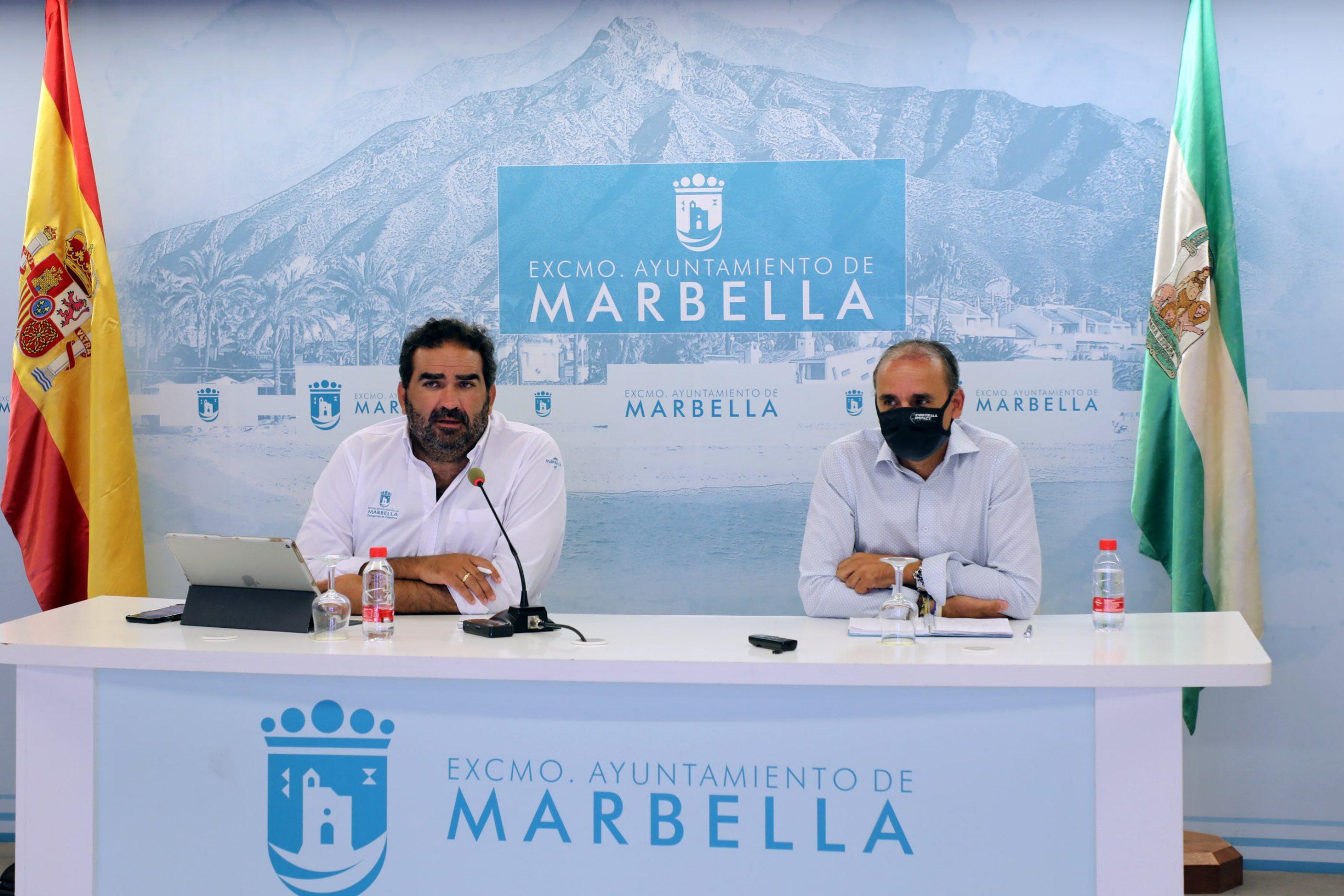 Gran repercusión publicitaria de los playoff de ascenso a Segunda División celebrados en Marbella