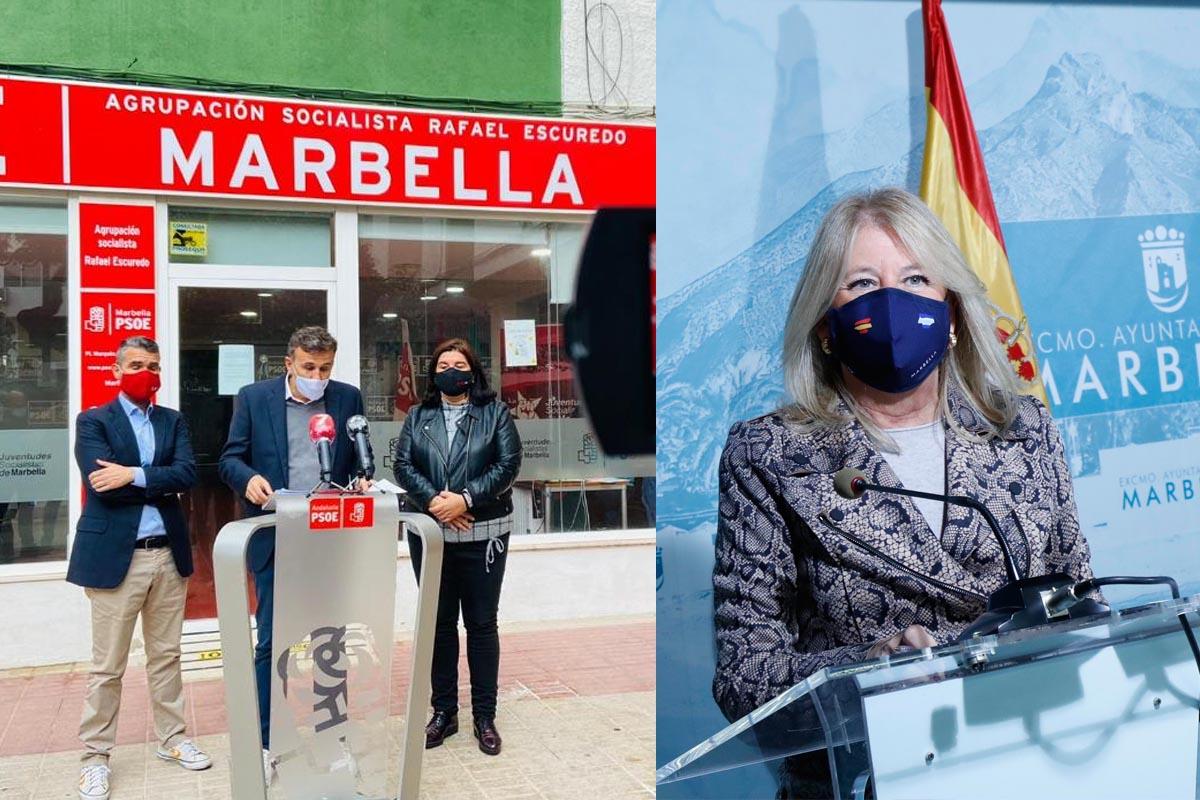 Guerra económica entre PP y PSOE en Marbella por los presupuestos del Estado