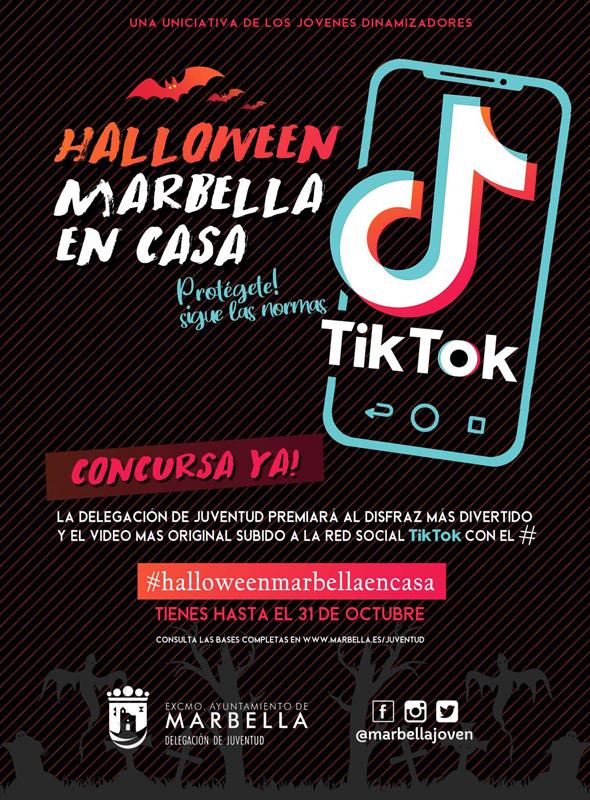 Halloween Marbella en casa. Concurso que prioriza creatividad en casa