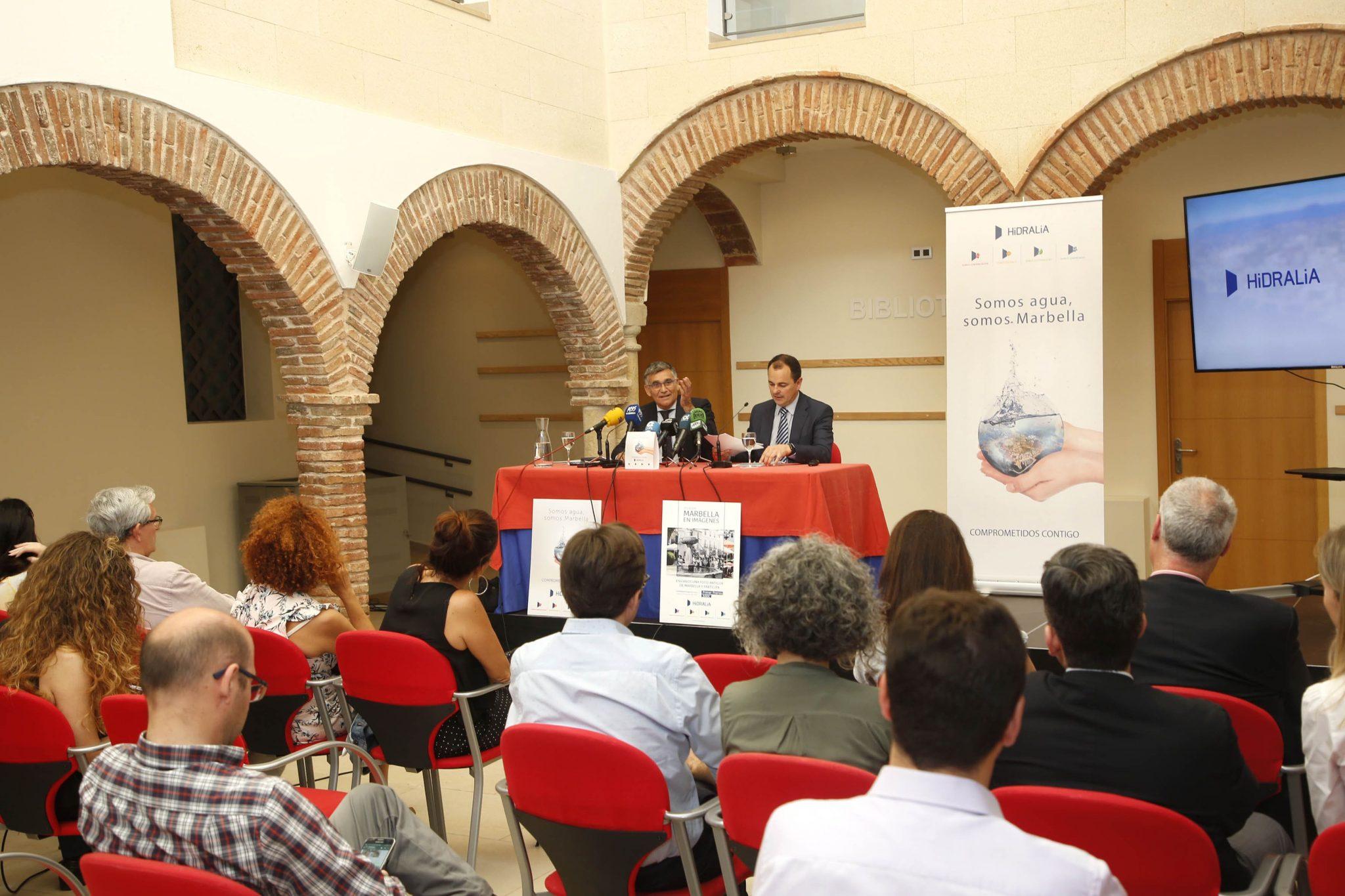 Hidralia y el Ayuntamiento presentan un Plan de Sostenibilidad para mejorar la calidad de vida de los ciudadanos