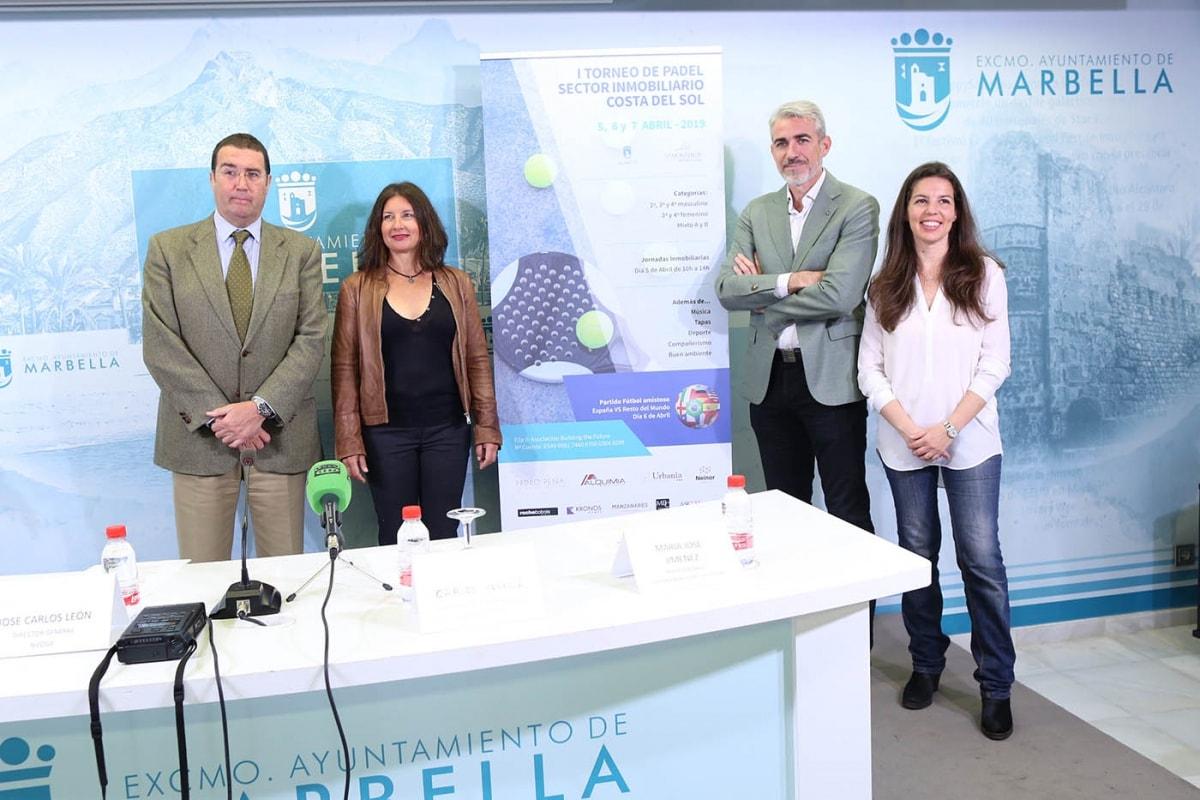 Marbella albergará este fin de semana el I Torneo de Pádel Solidario del sector inmobiliario de la Costa del Sol