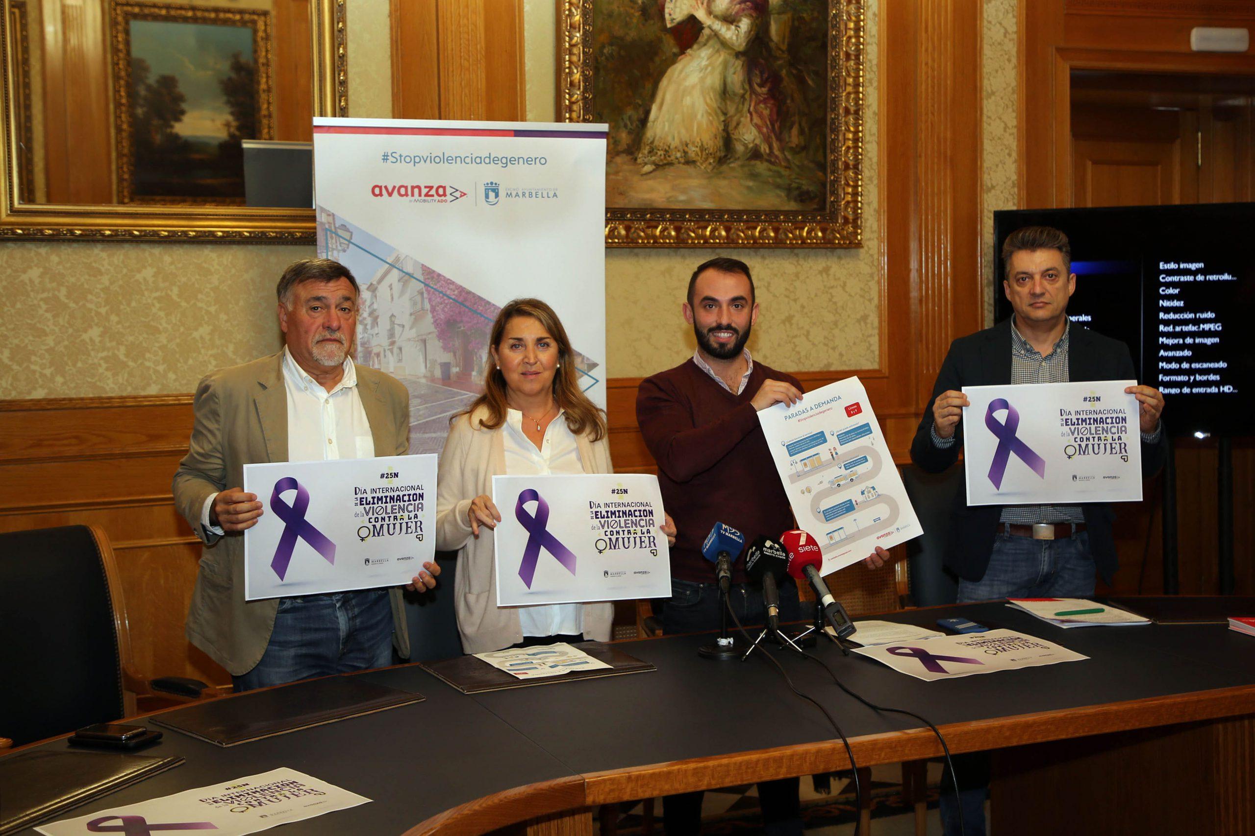 Impulsan campaña de difusión del servicio de 'paradas a demanda' en transporte público