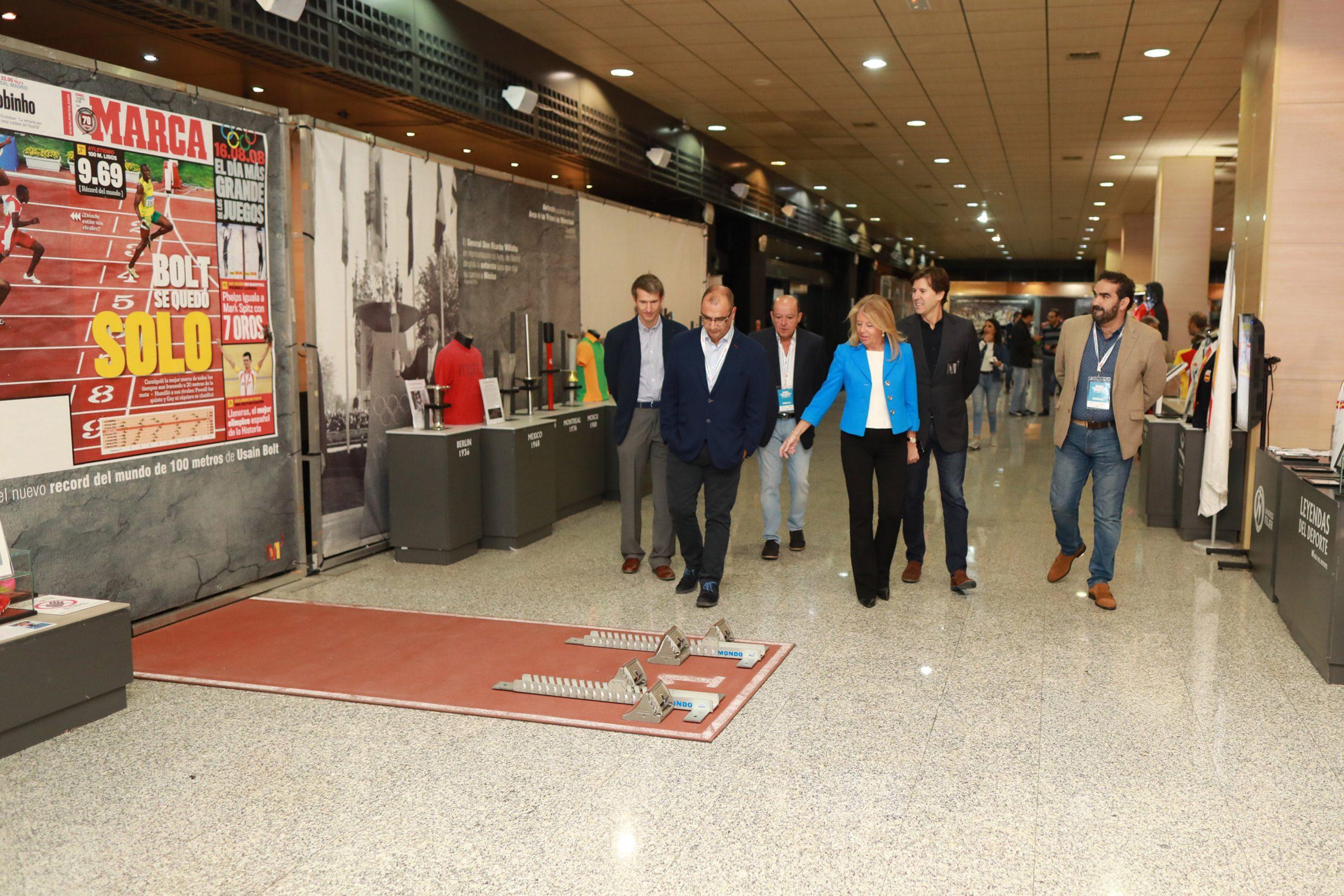 Inauguran en el Palacio de Congresos el Museo del Deporte del 'Marca Sport Weekend Marbella'