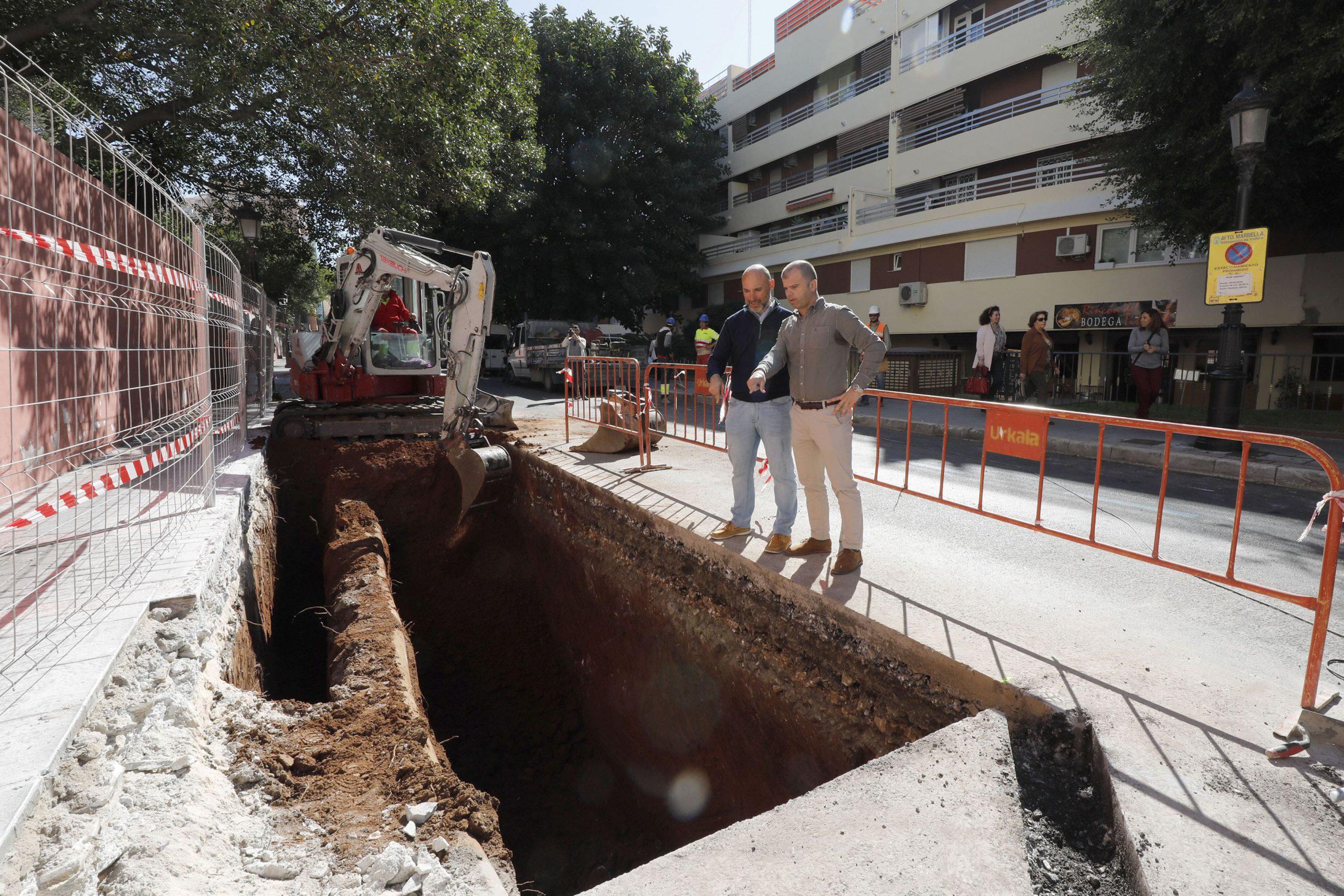 Invierten 316.000€ en la instalación de seis islas ecológicas en Marbella y Puerto Banús