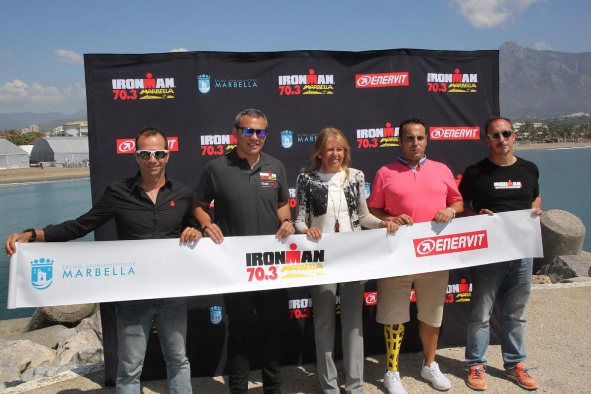 La primera edición del Ironman 70.3 se celebra el domingo en Marbella