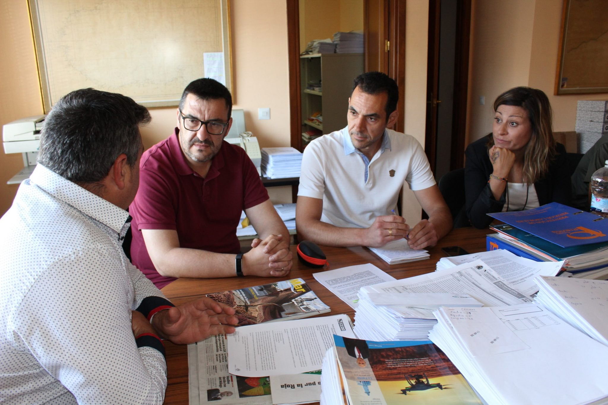 IU logra el apoyo del pleno de Diputación para solicitar a la Junta el dragado urgente del puerto de La Bajadilla