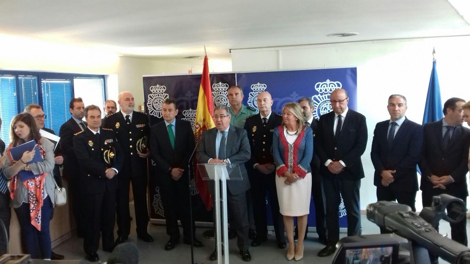 Juan Ignacio Zoido ha anunciado hoy una nueva Comisaría de la Policía Nacional para la ciudad