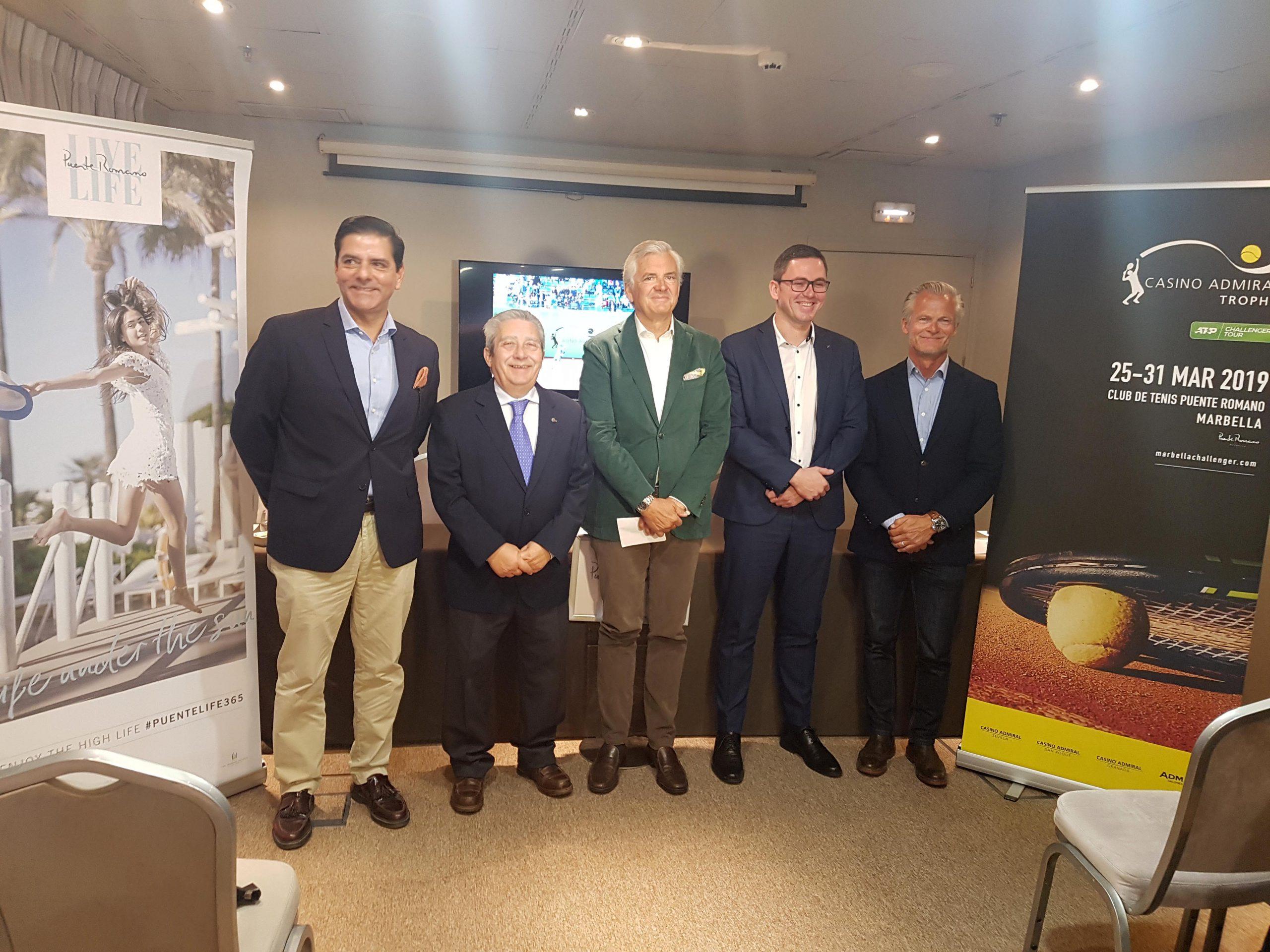 Jugadores del Top 100 mundial y las mejores raquetas nacionales disputarán el trofeo Casino Admiral Trophy ATP Challenger