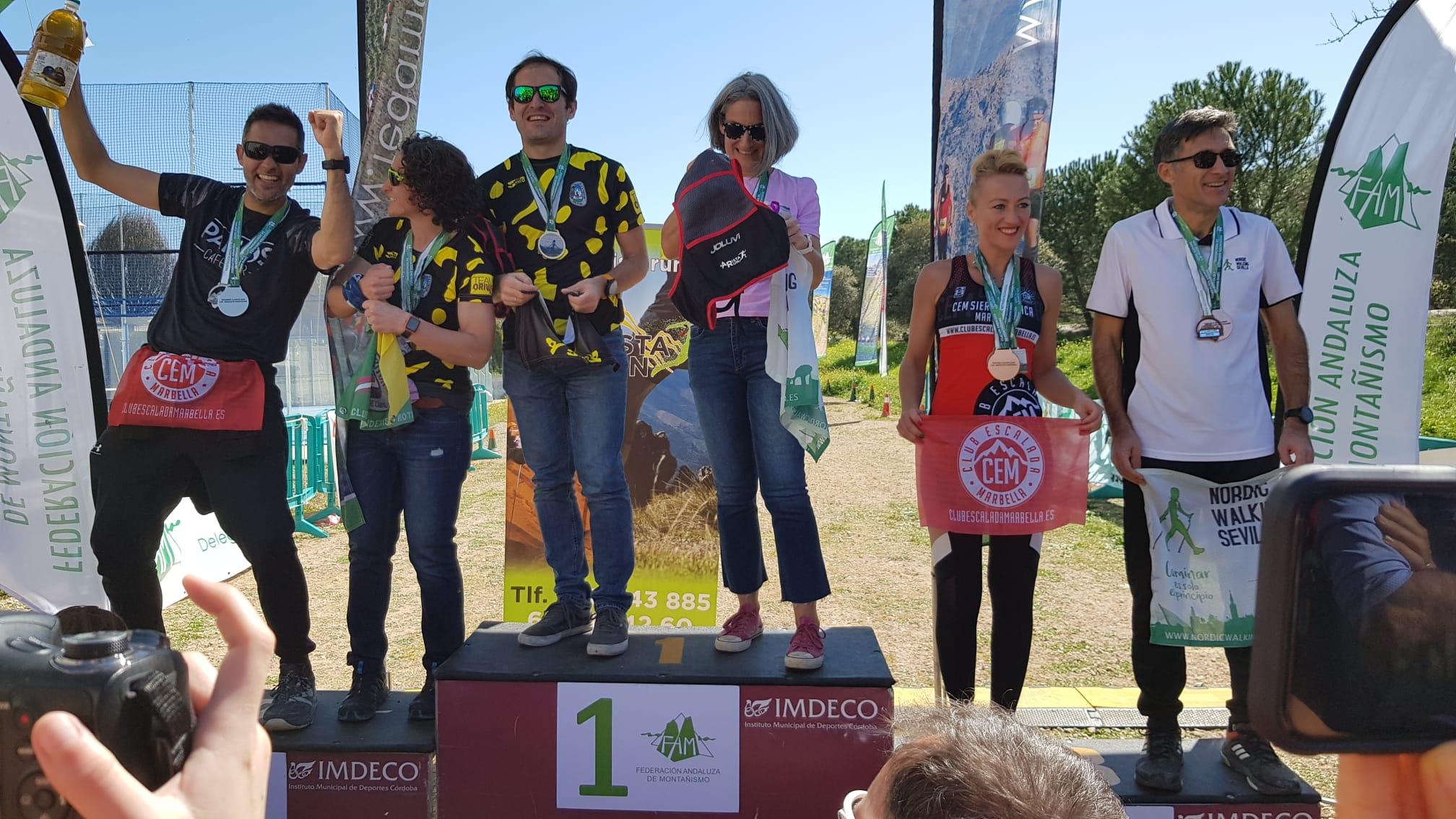 Kike Villanueva, Subcampeón de Andalucía de Marcha Nórdica 2020