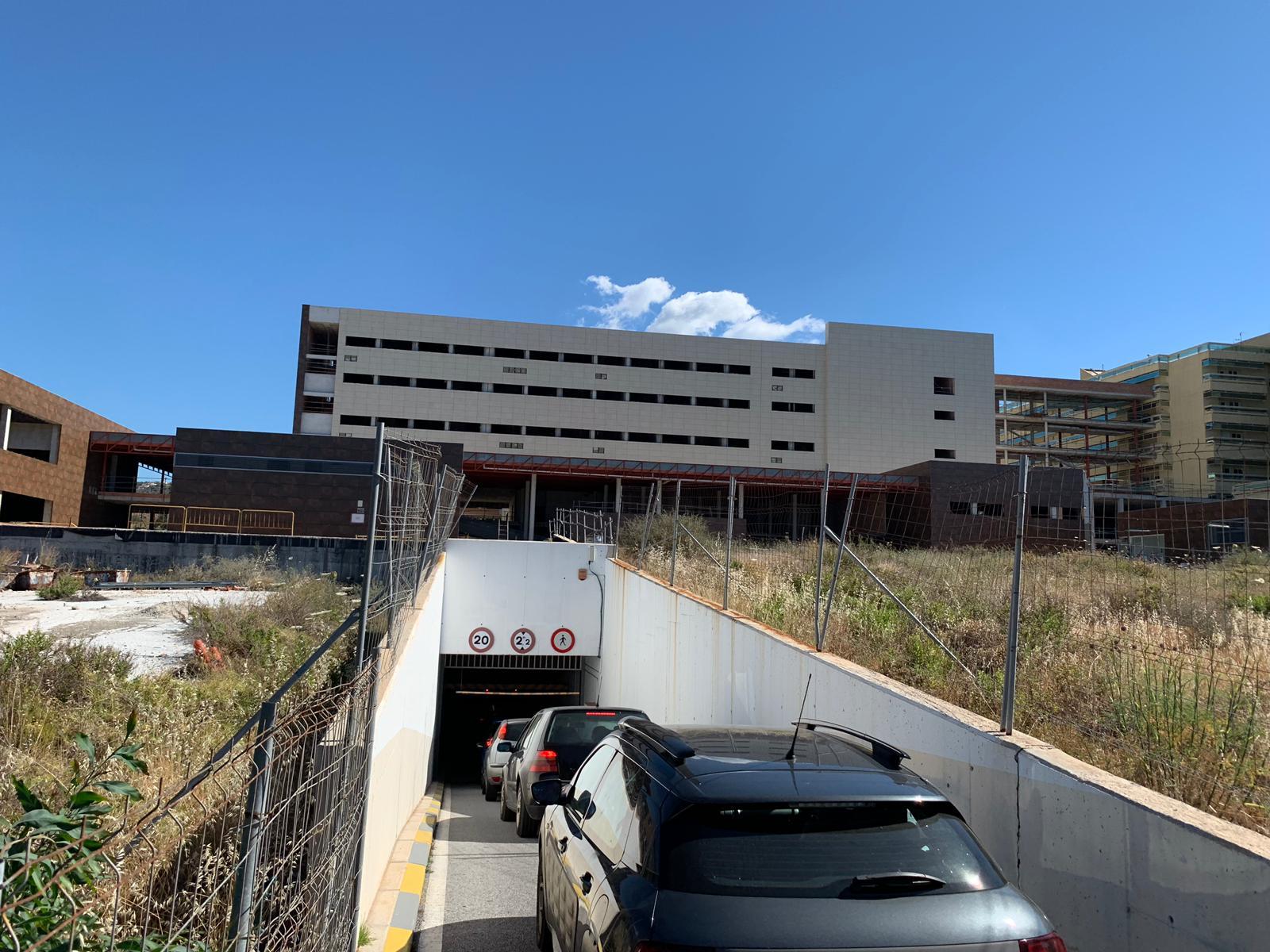 La Agencia Sanitaria Costa del Sol rescata las obras de ampliación del Hospital Costa del Sol