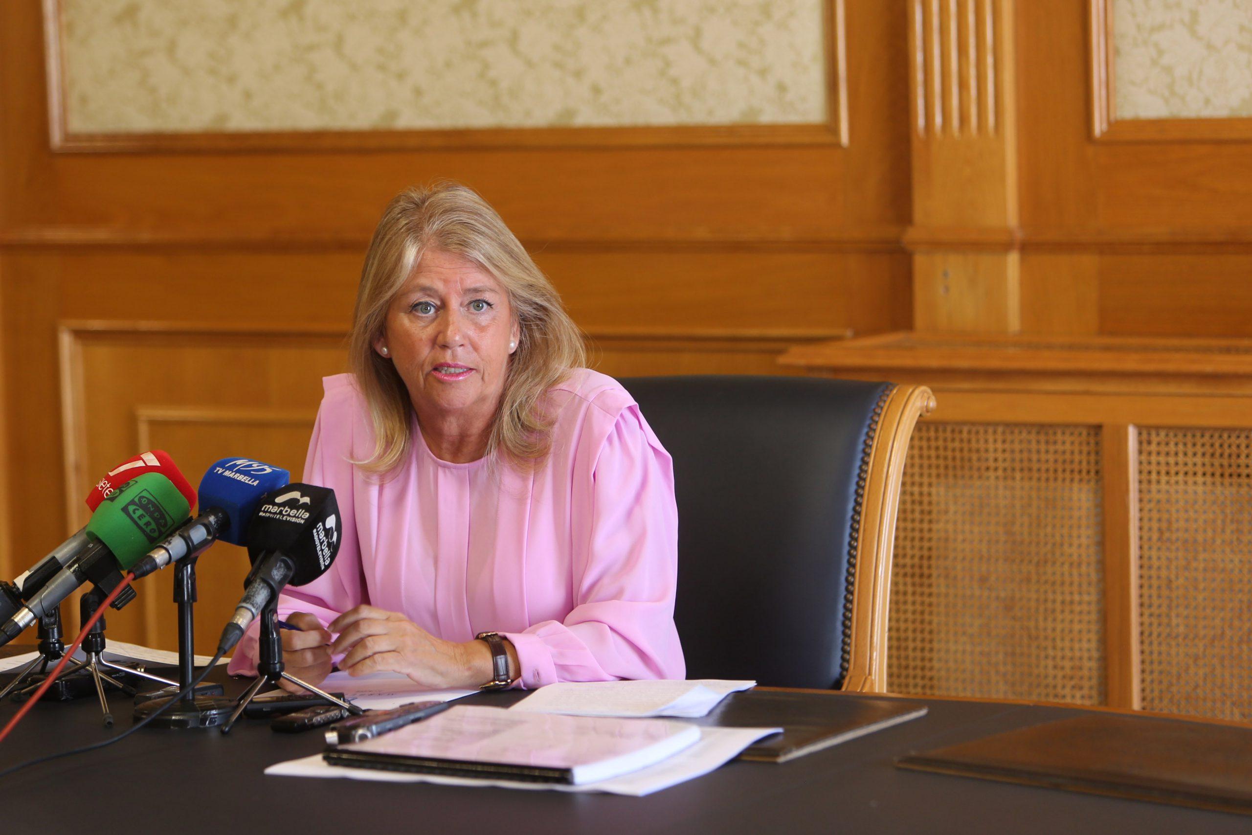 La alcaldesa de Marbella destaca el