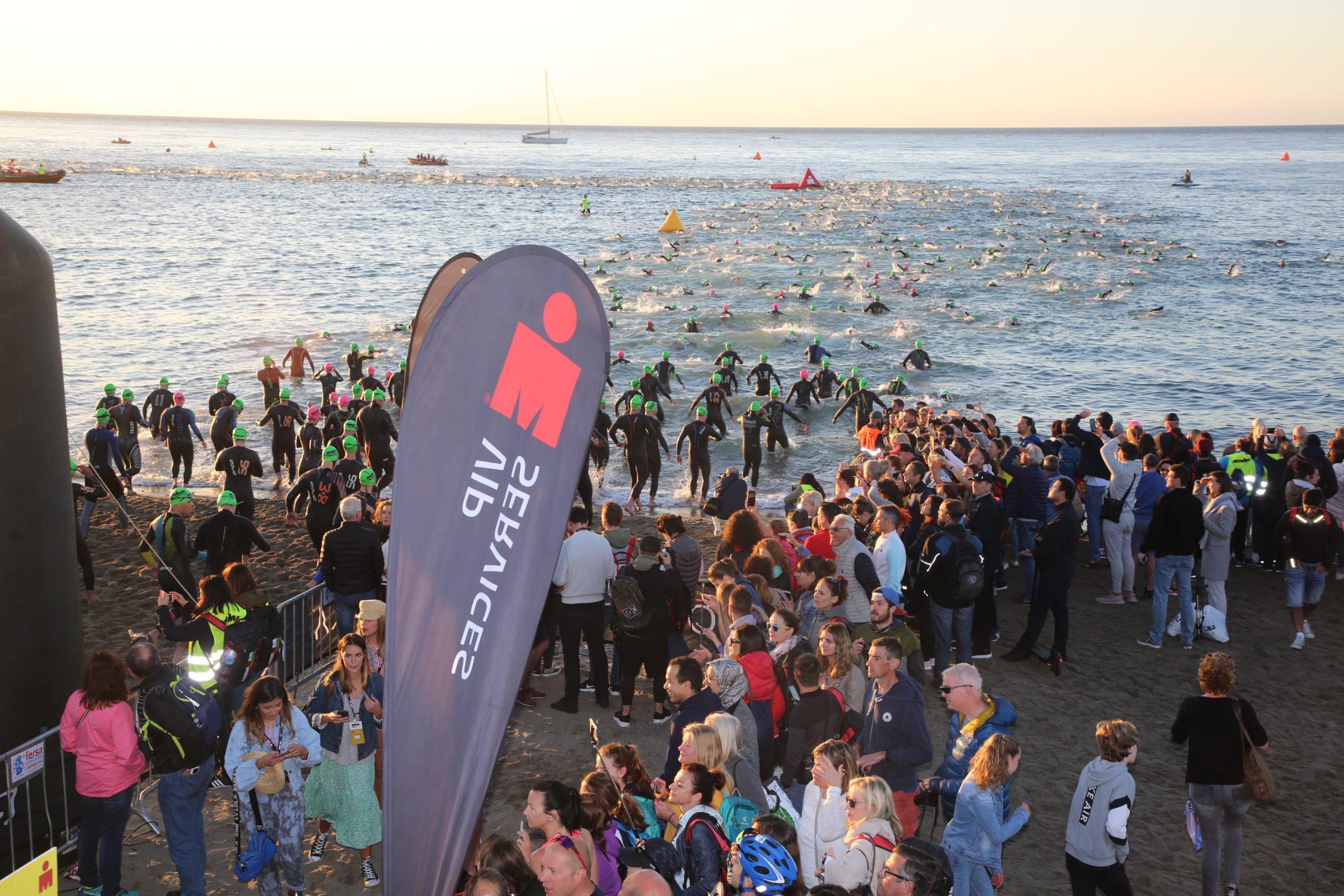 """La alcaldesa resalta """"el impacto promocional"""" del Ironman 70.3 Marbella"""
