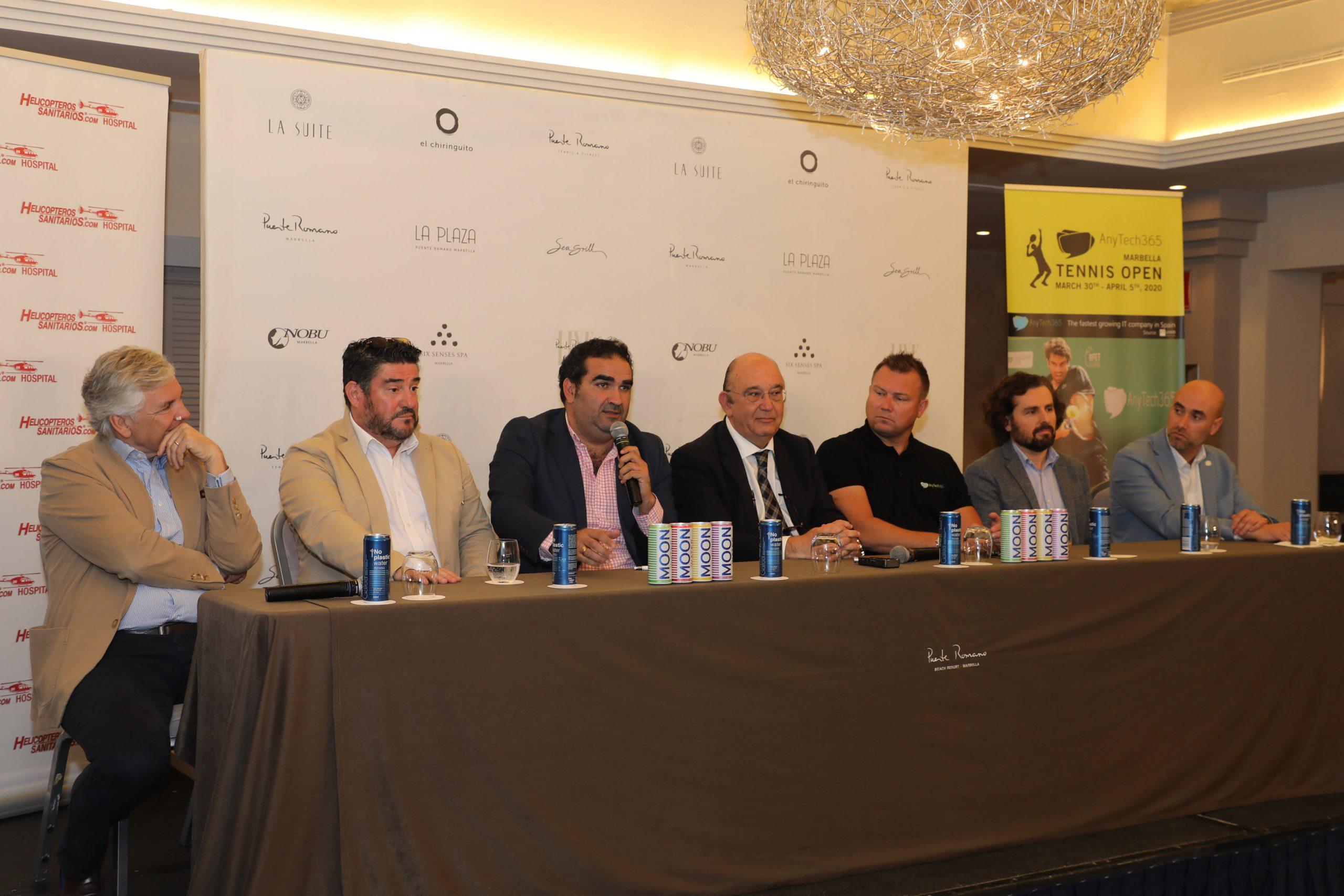 La ciudad albergará la tercera edición del Marbella Tennis Open ATP del 30 de marzo al 5 de abril