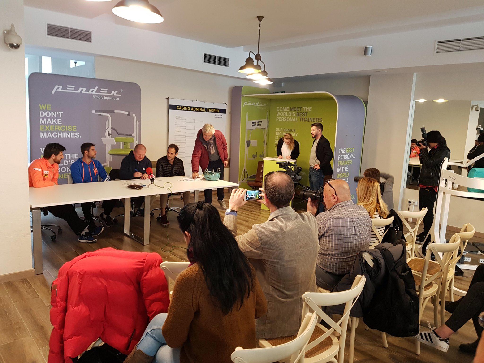 La configuración del cuadro principal del ATP de Marbella promete partidos muy igualados y tenis de alto nivel