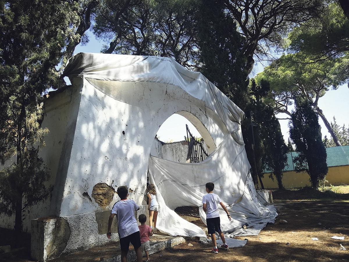 La Derruida Ermita Del Parque Vigil De Quiñones Lleva Años Olvidada Por El Ayuntamiento Marbella Actualidad
