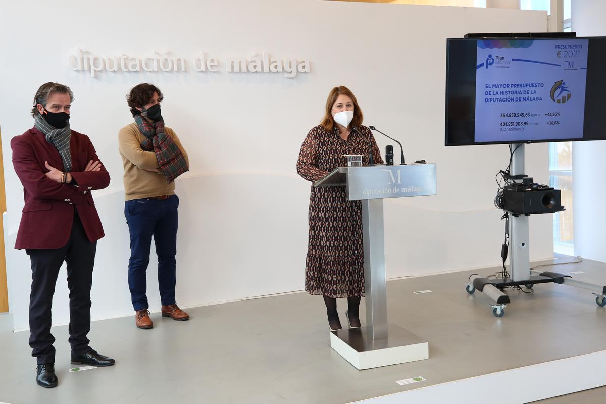 La Diputación destinará este año 61 millones a las consecuencias sociales de la pandemia