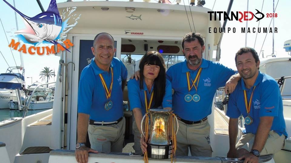 La embarcación marbellí Macumar participa en la Titanred 2018 en aguas valencianas