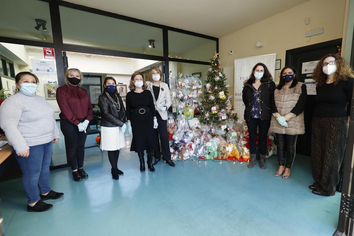 La Fundación Bastiano Bergese entrega juguetes a dos asociaciones locales