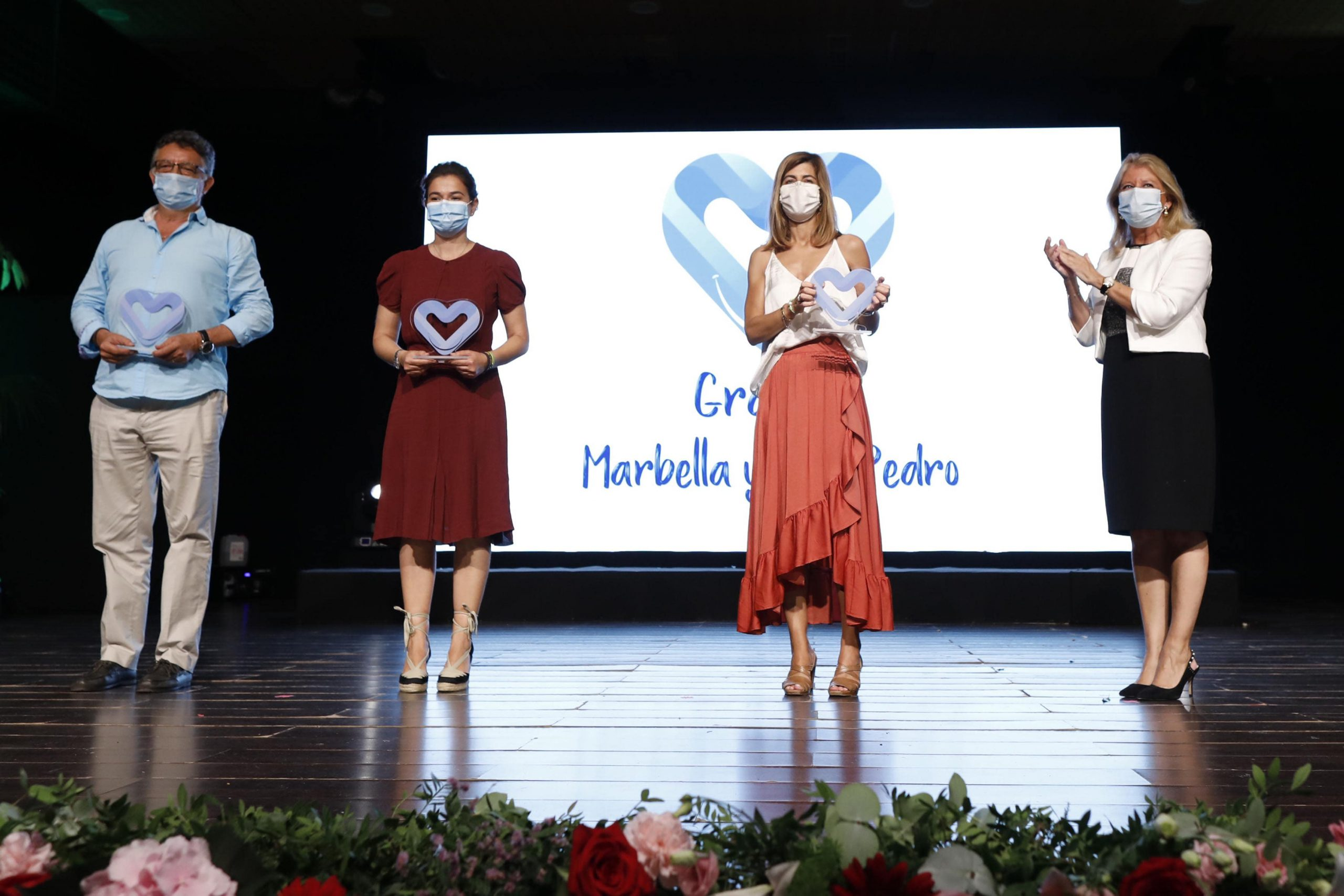 La gala 'Gracias Marbella y San Pedro' reconoce la labor de personas y colectivos durante la pandemia del Covid