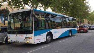 La gratuidad del servicio de autobús urbano alcanza en 2020 al 85% de los viajes