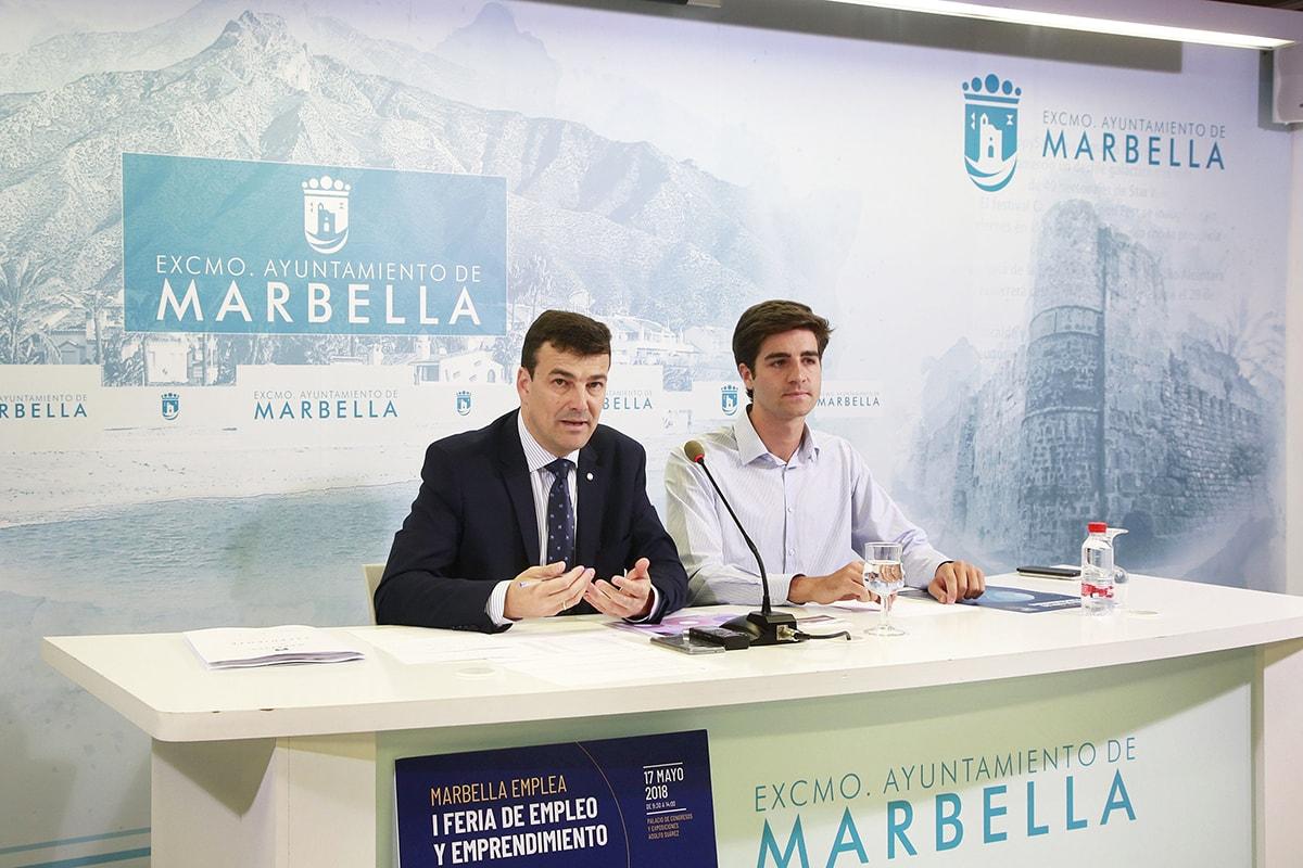 La I Feria de Empleo y Emprendimiento de Marbella contará con la presencia de 50 stands