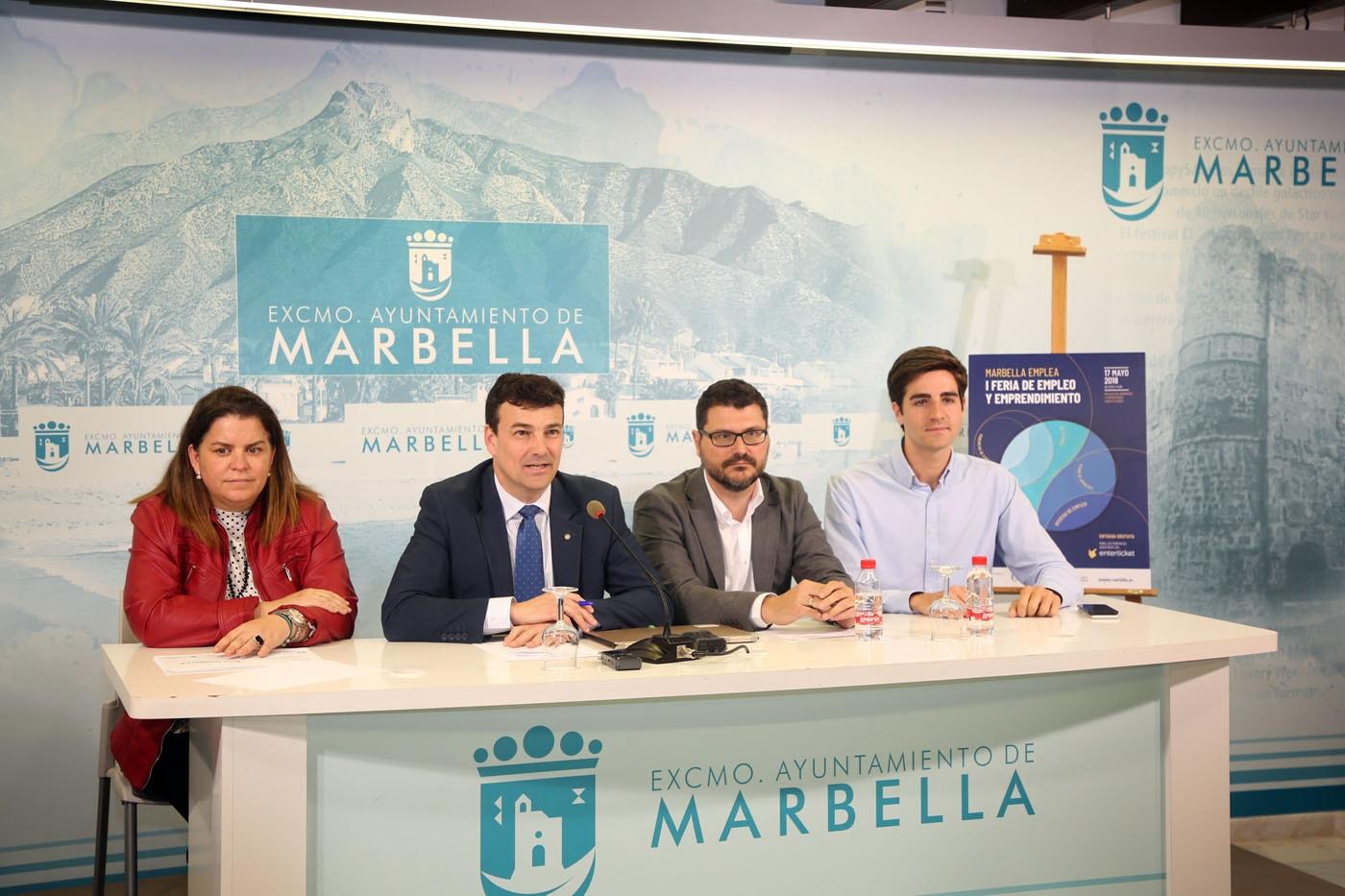 La I Feria de Empleo y Emprendimiento de Marbella tendrá lugar el próximo 17 de mayo