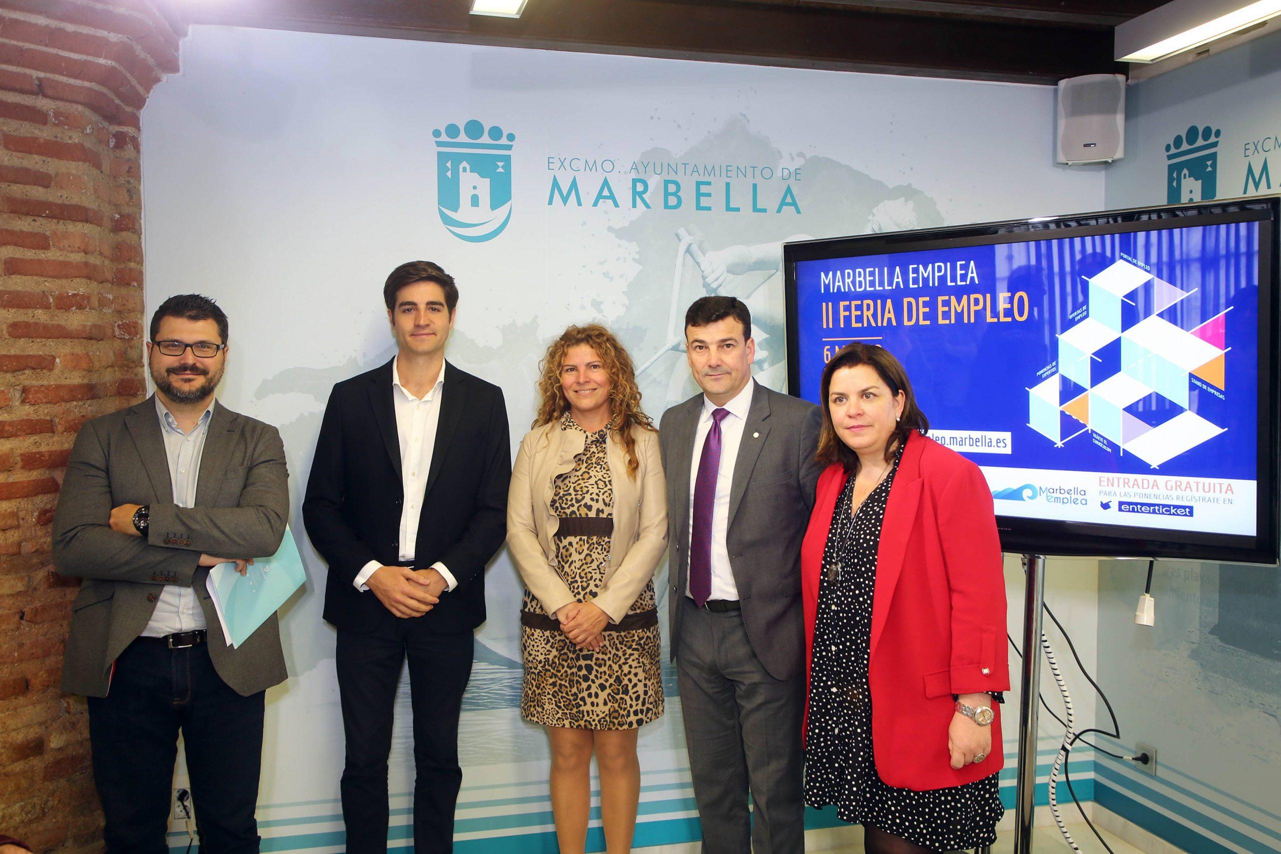 La II edición de la Feria de Empleo de Marbella se celebrará el 6 de marzo