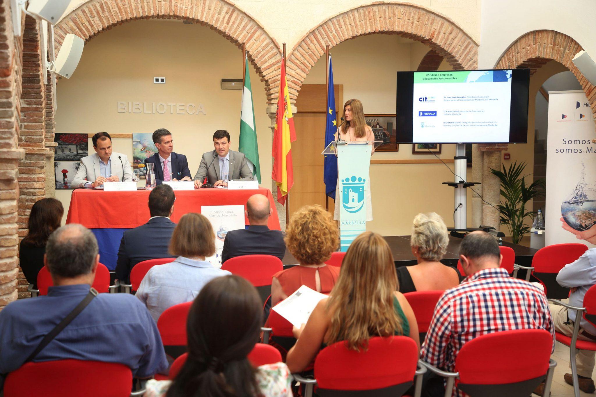 La IV edición de las jornadas del CIT Marbella aborda con expertos el cambio climático