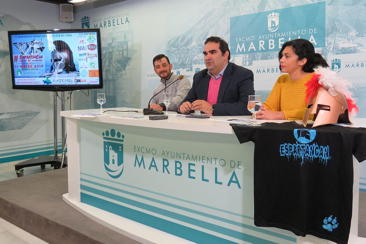 La playa de El Cable acogerá el 11 de marzo la II edición del Espartancan Ciudad de Marbella