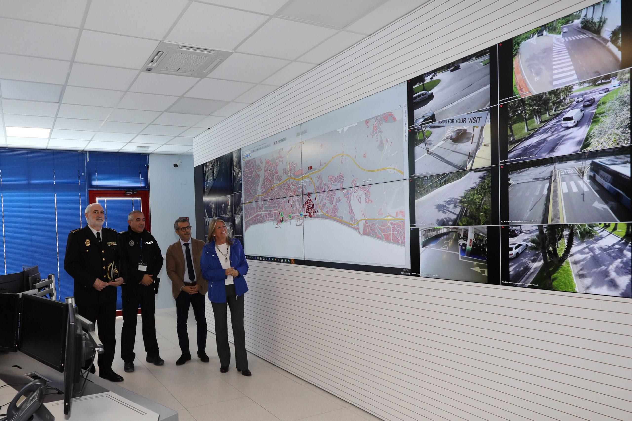 La Policía Local de Marbella estrena nuevo centro de control y mando