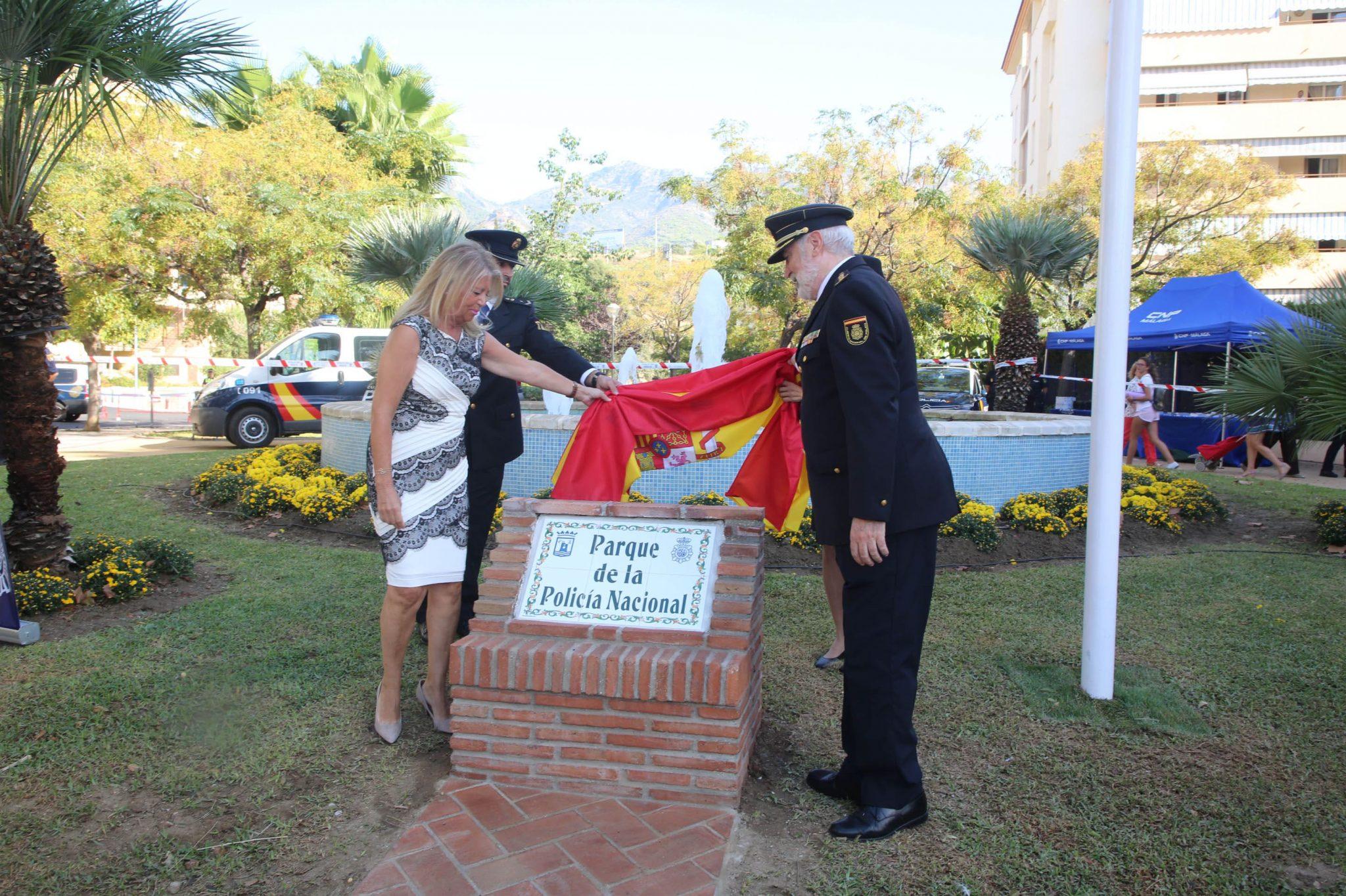 La Policía Nacional cuenta ya con un parque con su nombre